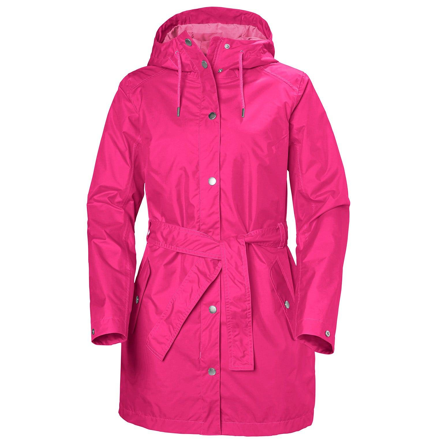 Helly Hansen W Lyness Ii Coat Womens Rain Jacket Pink S