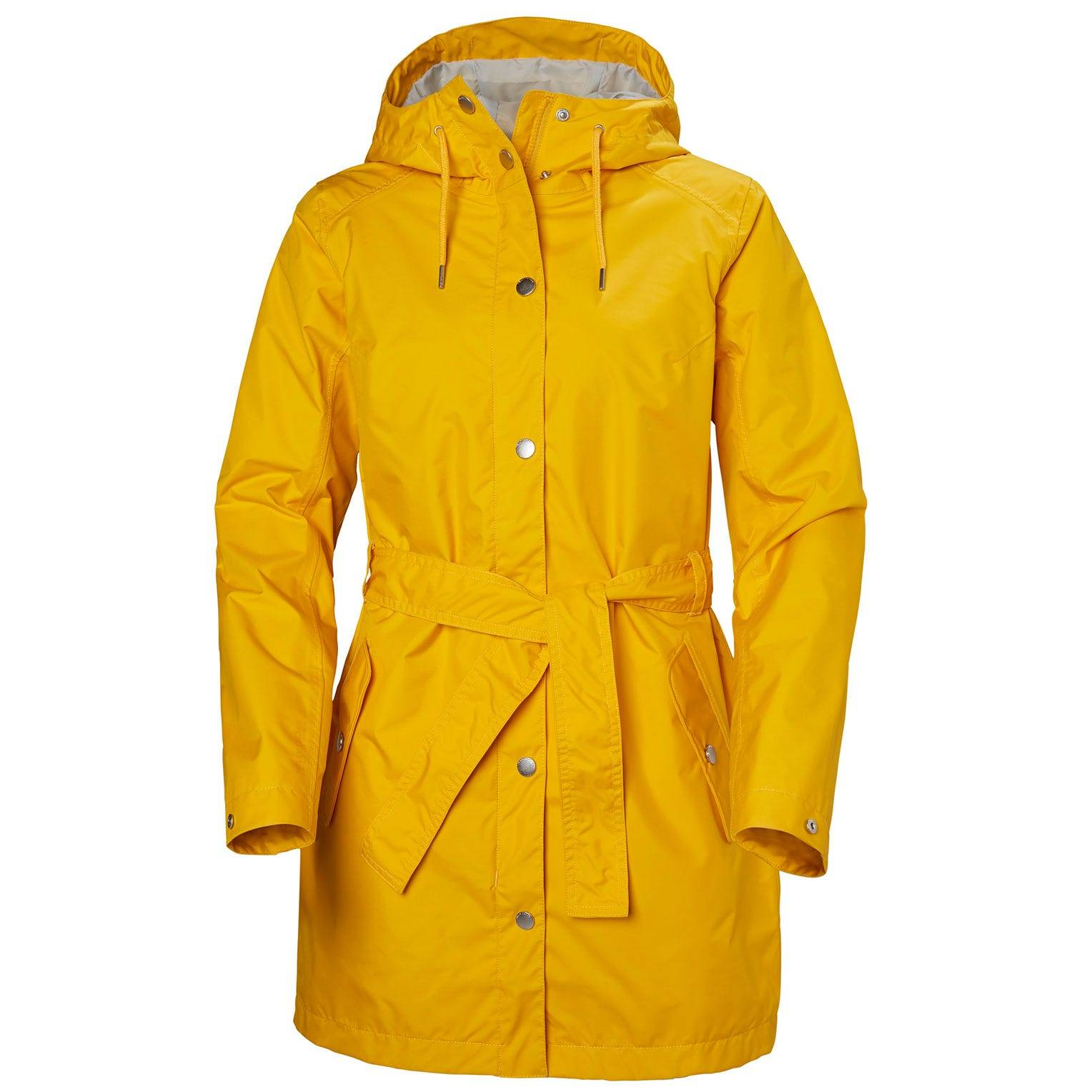 Helly Hansen W Lyness Ii Coat Womens Rain Jacket Yellow L