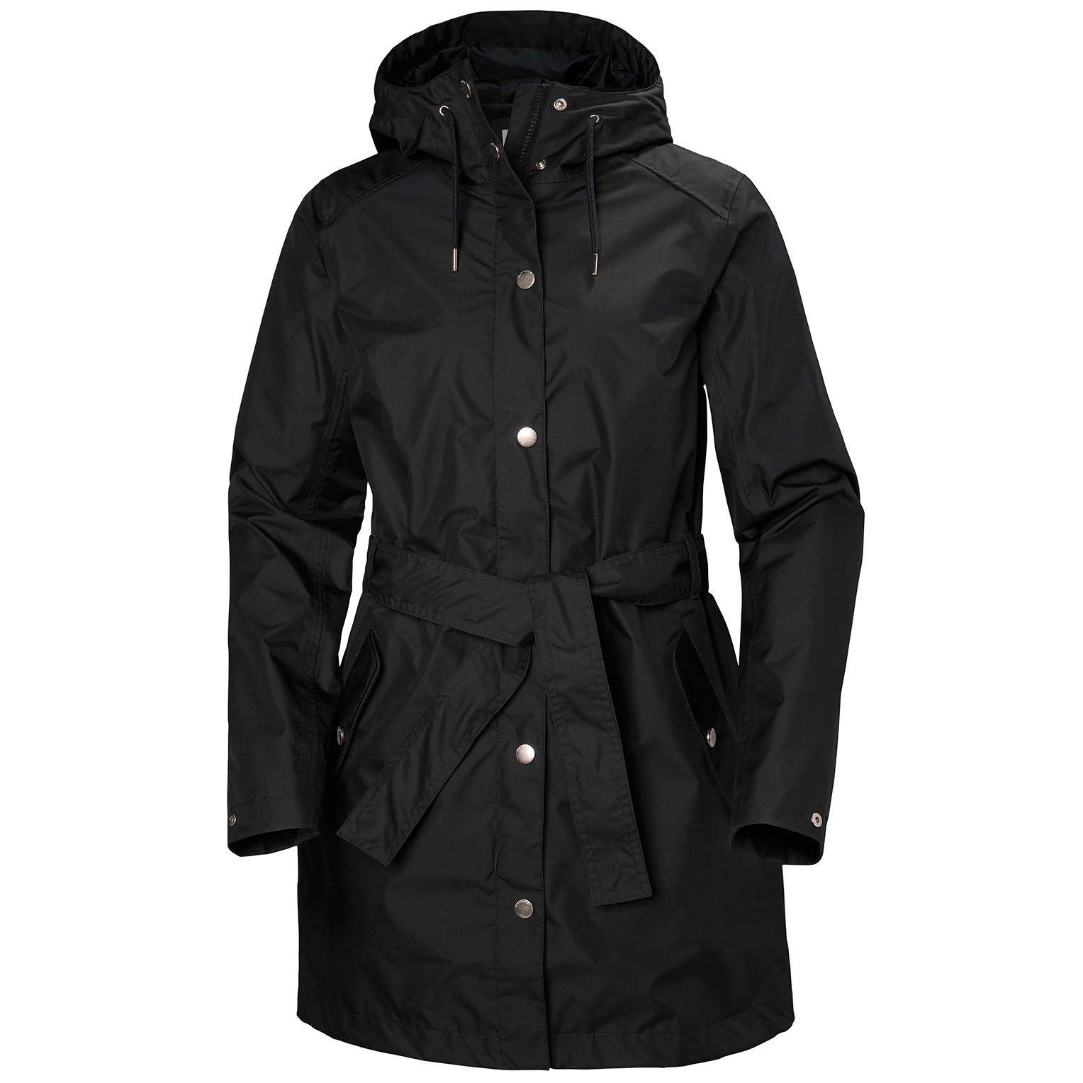 Helly Hansen W Lyness Ii Coat Womens Rain Jacket Black M