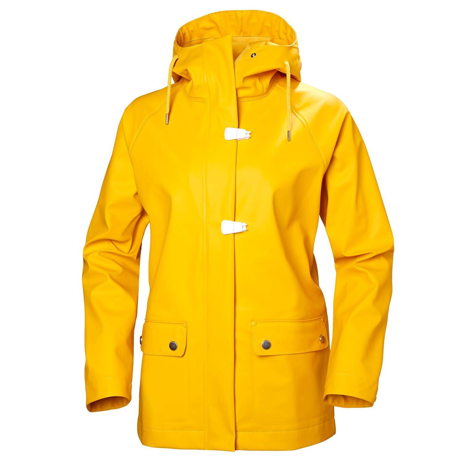 Helly Hansen W Jeloey Jacket Womens Rain Yellow XS
