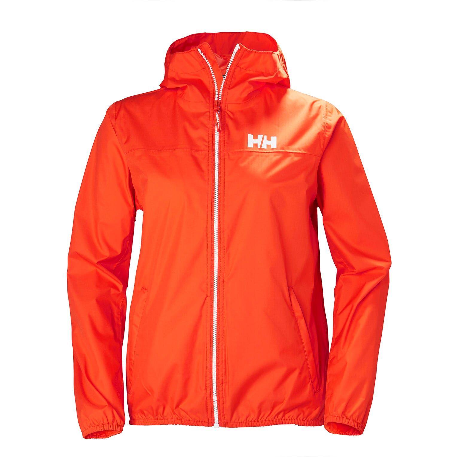 Helly Hansen W Belfast Packable Jacket Womens Hiking Red XS