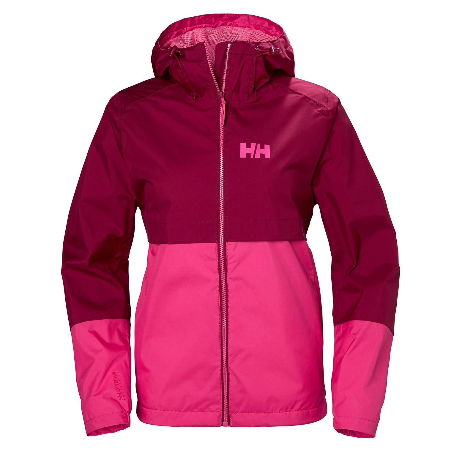 Helly Hansen W Aran Jacket Womens Hiking Purple XL