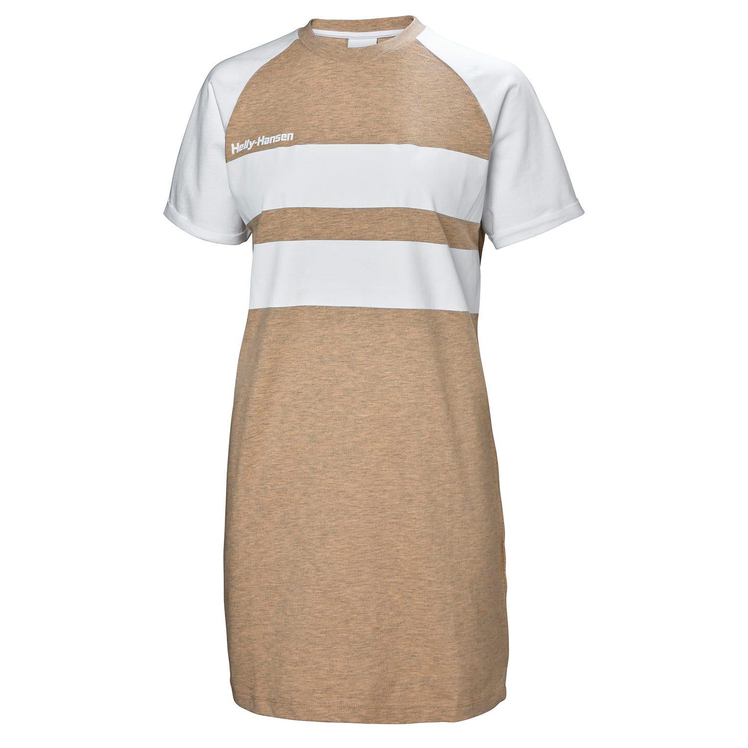 Helly Hansen Heritage Tshirt Dress Womens Rain Jacket Beige XS