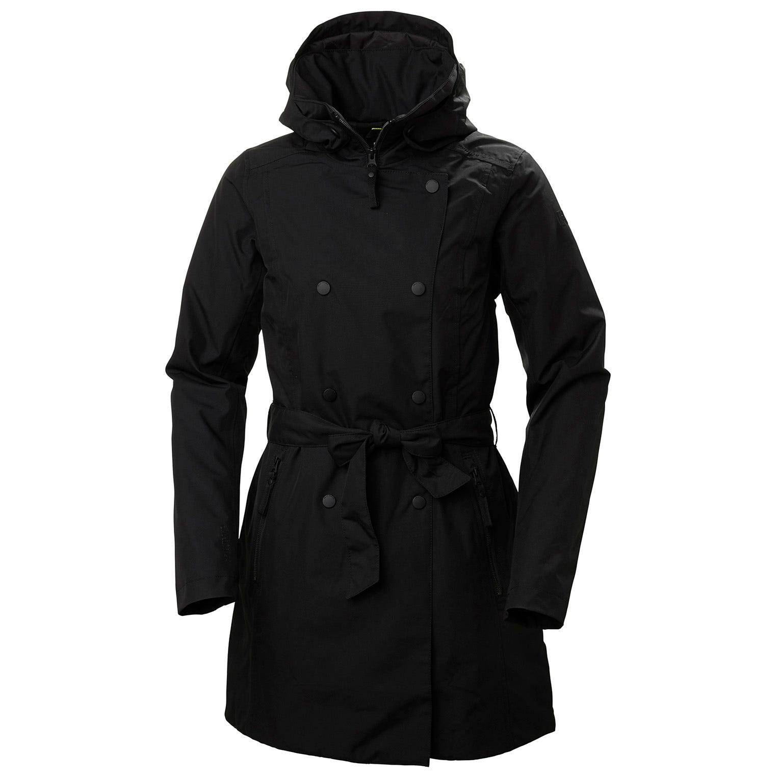 Helly Hansen W Welsey Ii Trench Insulated Womens Rain Jacket Black M