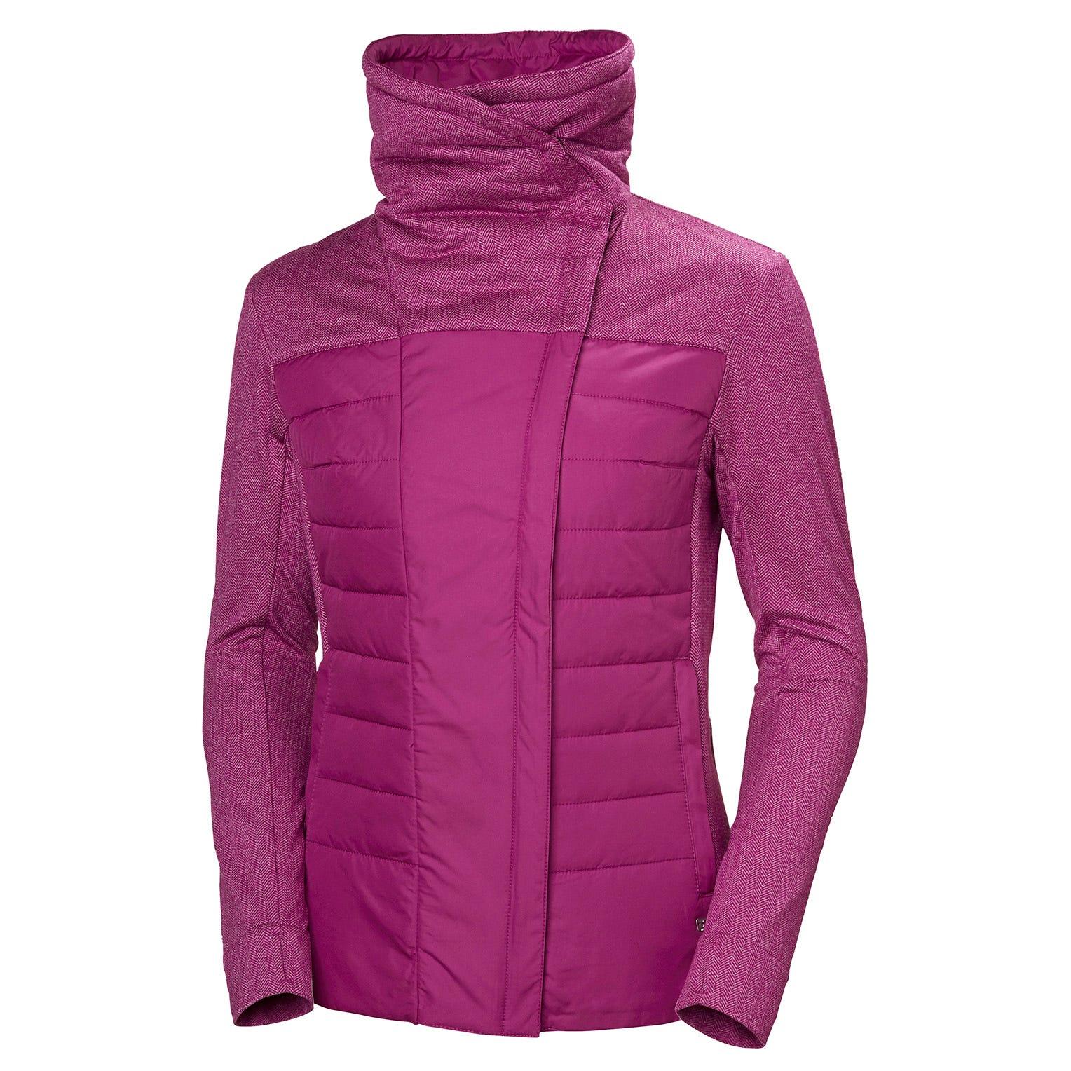 Helly Hansen W Astra Jacket Womens Fleece Yellow XL