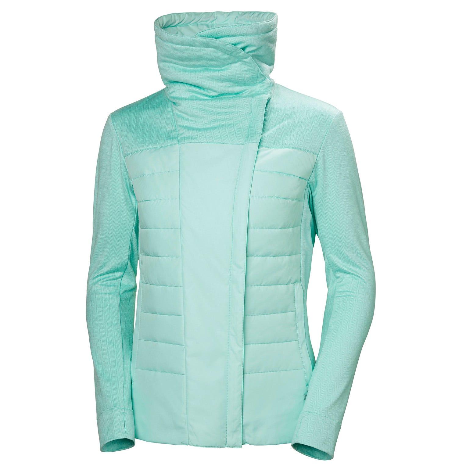 Helly Hansen W Astra Jacket Womens Fleece Blue XS