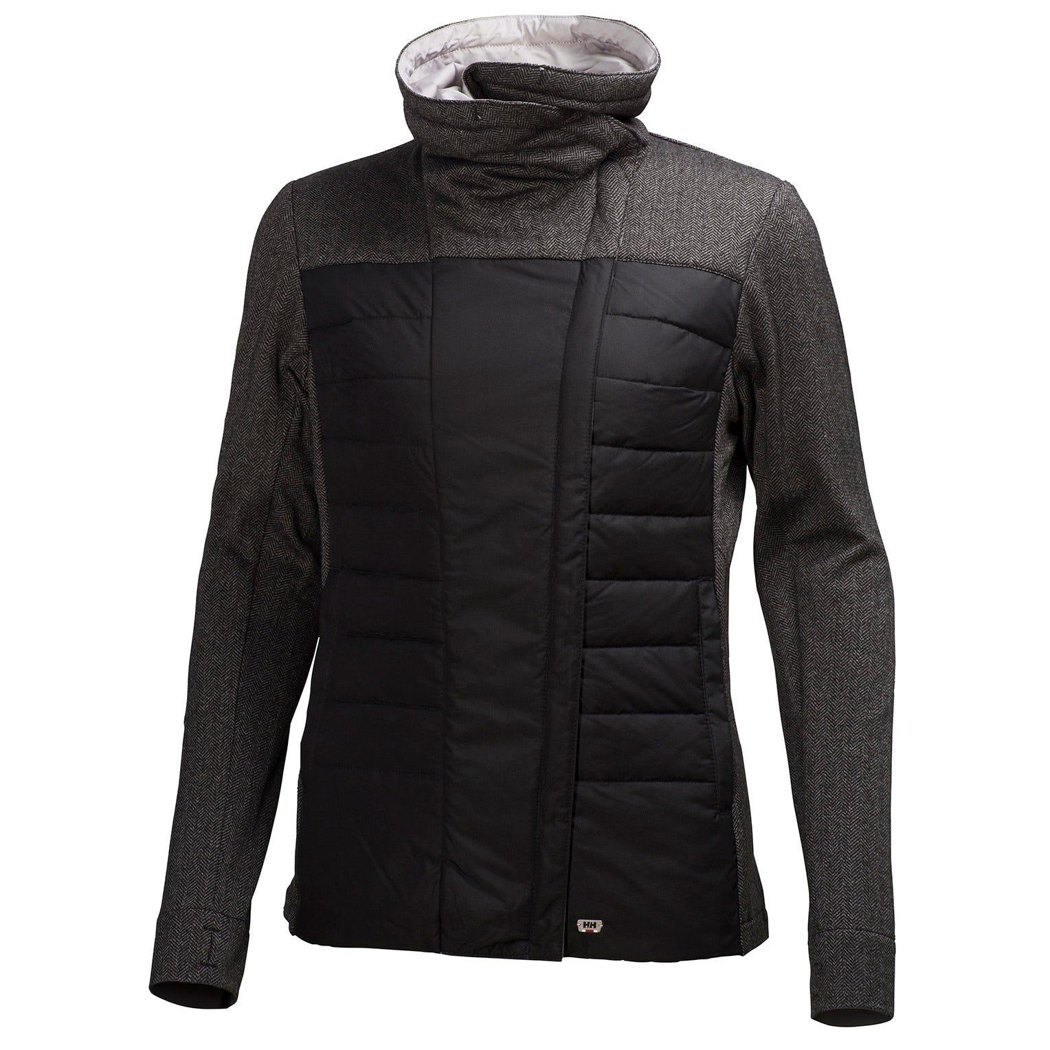 Helly Hansen W Astra Jacket Womens Fleece Black XL