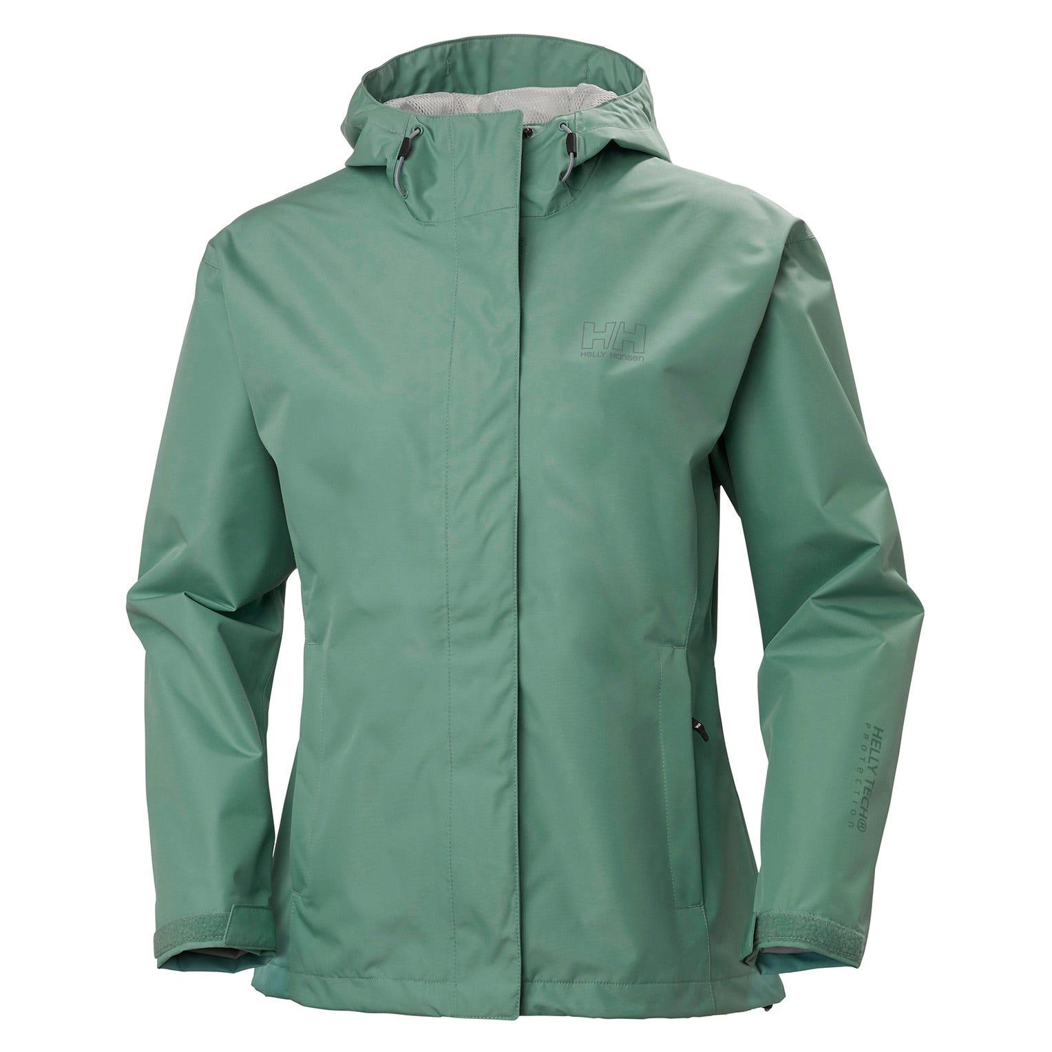 Helly Hansen W Seven J Jacket Womens Rain Blue L