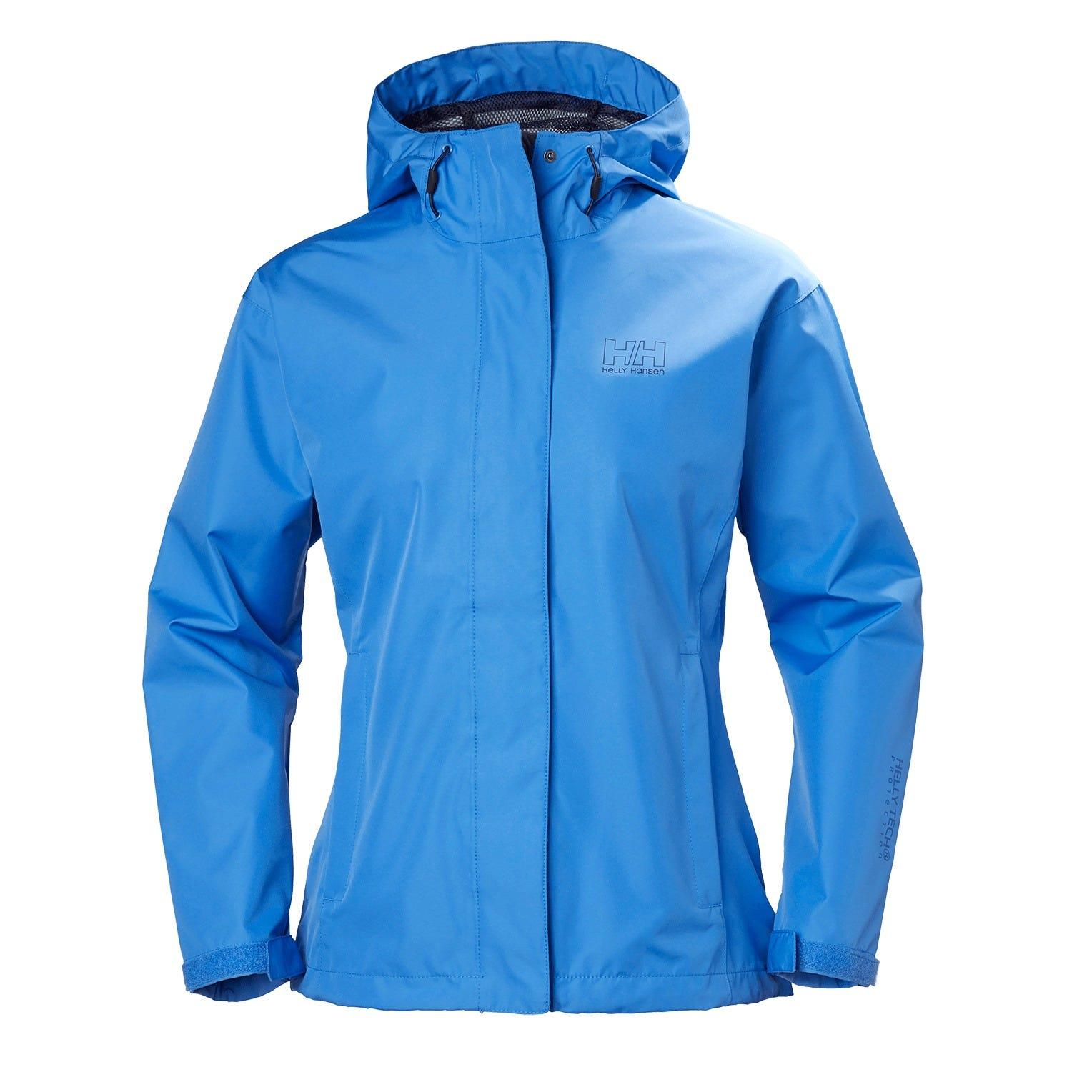 Helly Hansen W Seven J Jacket Womens Rain Blue M