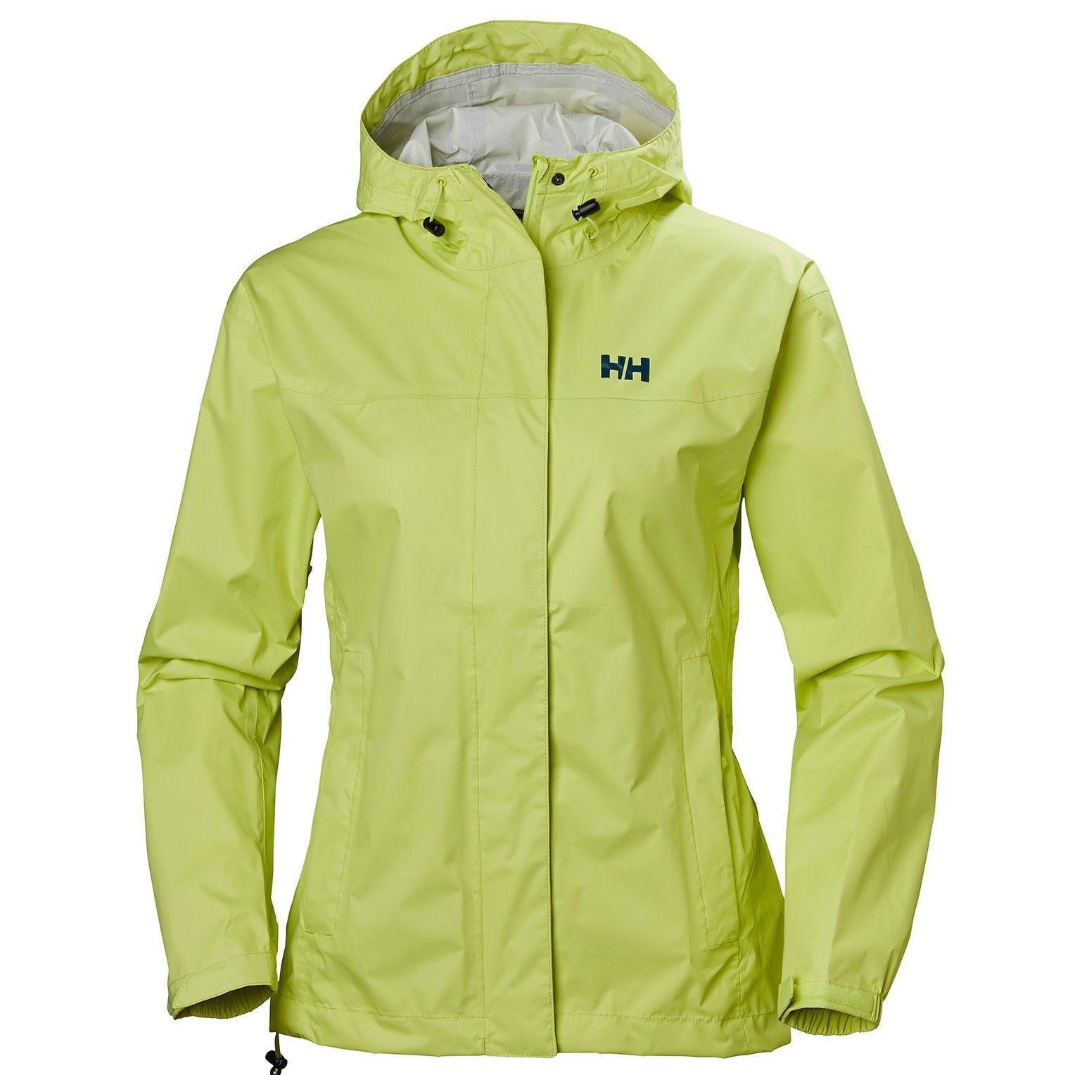 Helly Hansen W Loke Jacket Womens Hiking Yellow XS