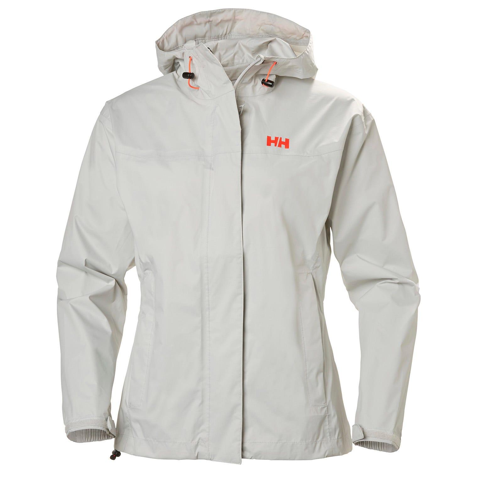 Helly Hansen W Loke Jacket Womens Hiking Grey L