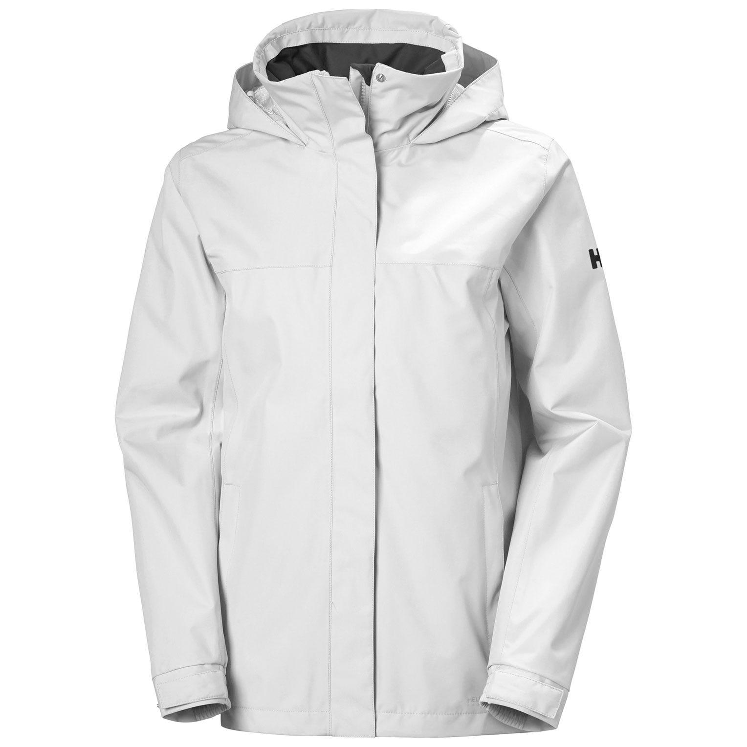 Helly Hansen W Aden Jacket Womens Rain White XXL