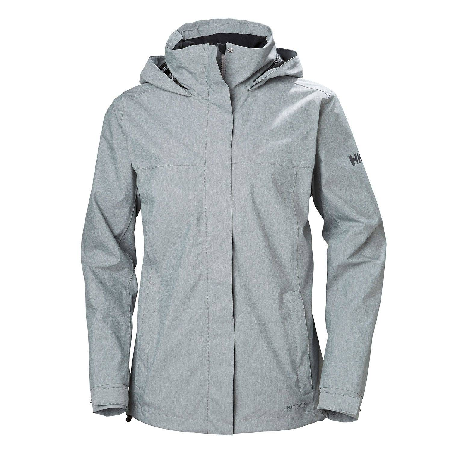 Helly Hansen W Aden Jacket Womens Rain Grey XS