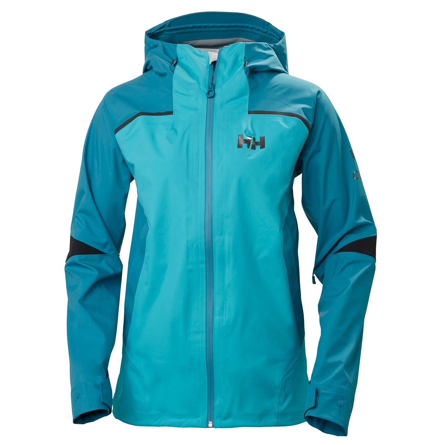 Helly Hansen W Odin 9 Worlds Jacket Womens Hiking Yellow S