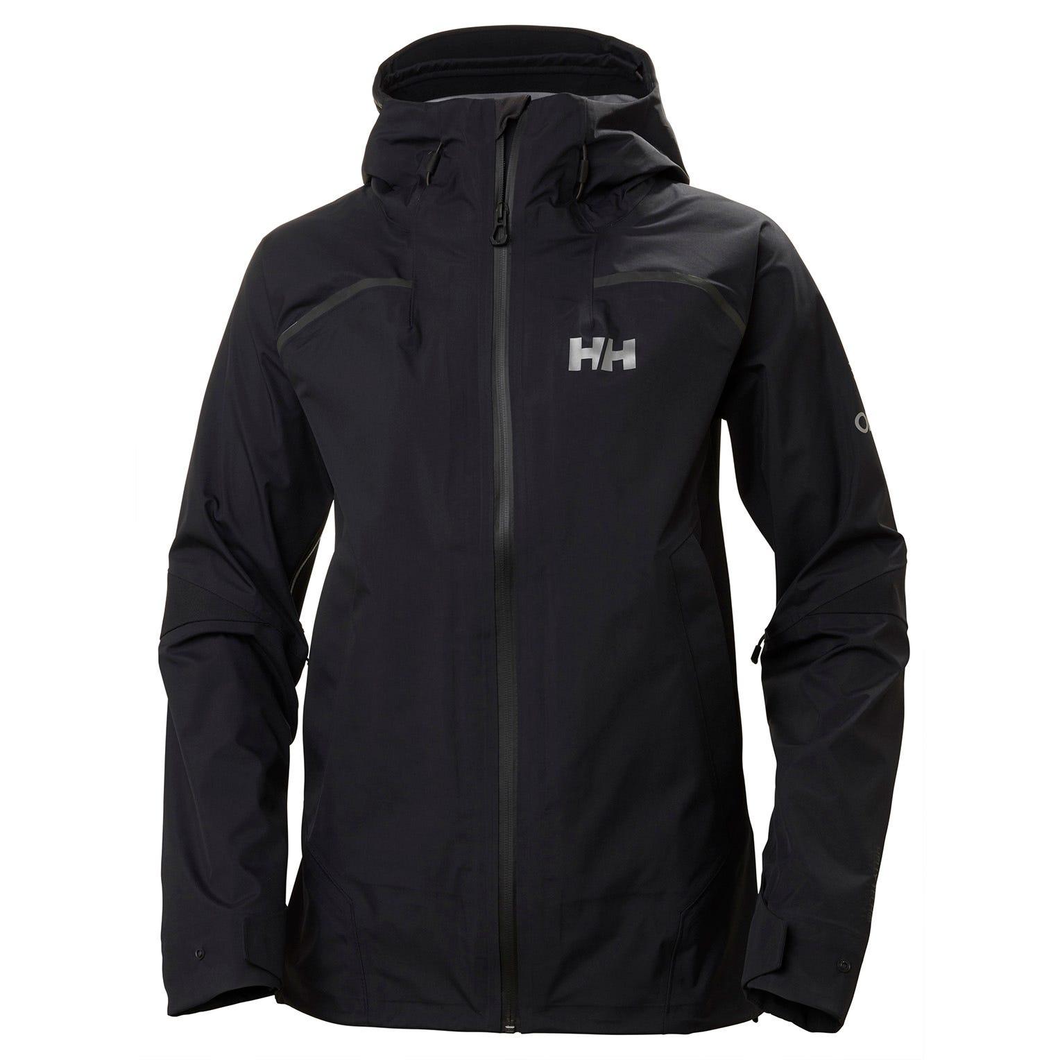 Helly Hansen W Odin 9 Worlds Jacket Womens Hiking Black XS