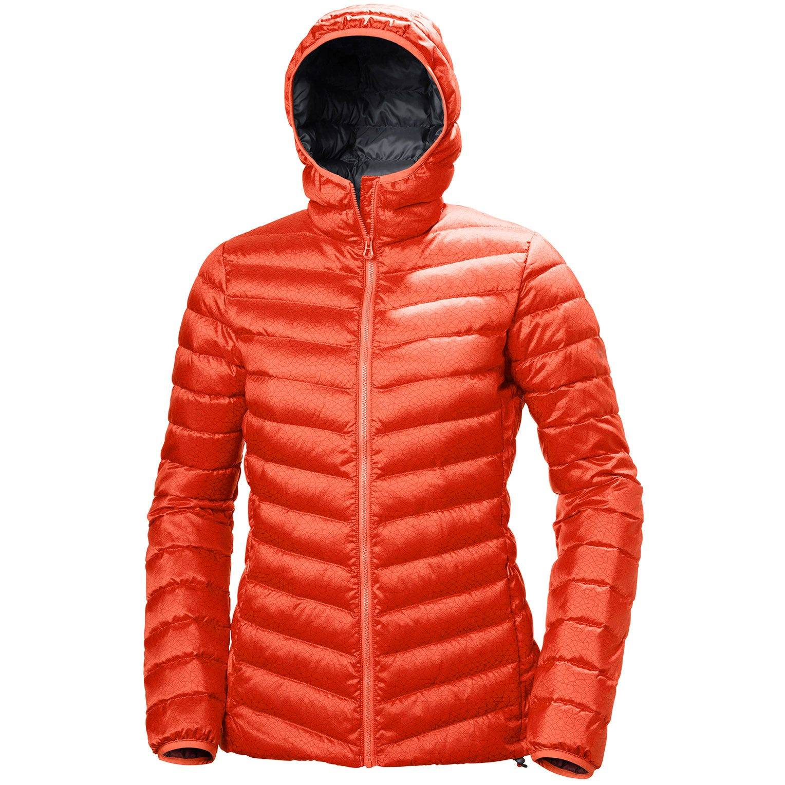 Helly Hansen W Verglas Hooded Down Insulato Womens Hiking Jacket Red S