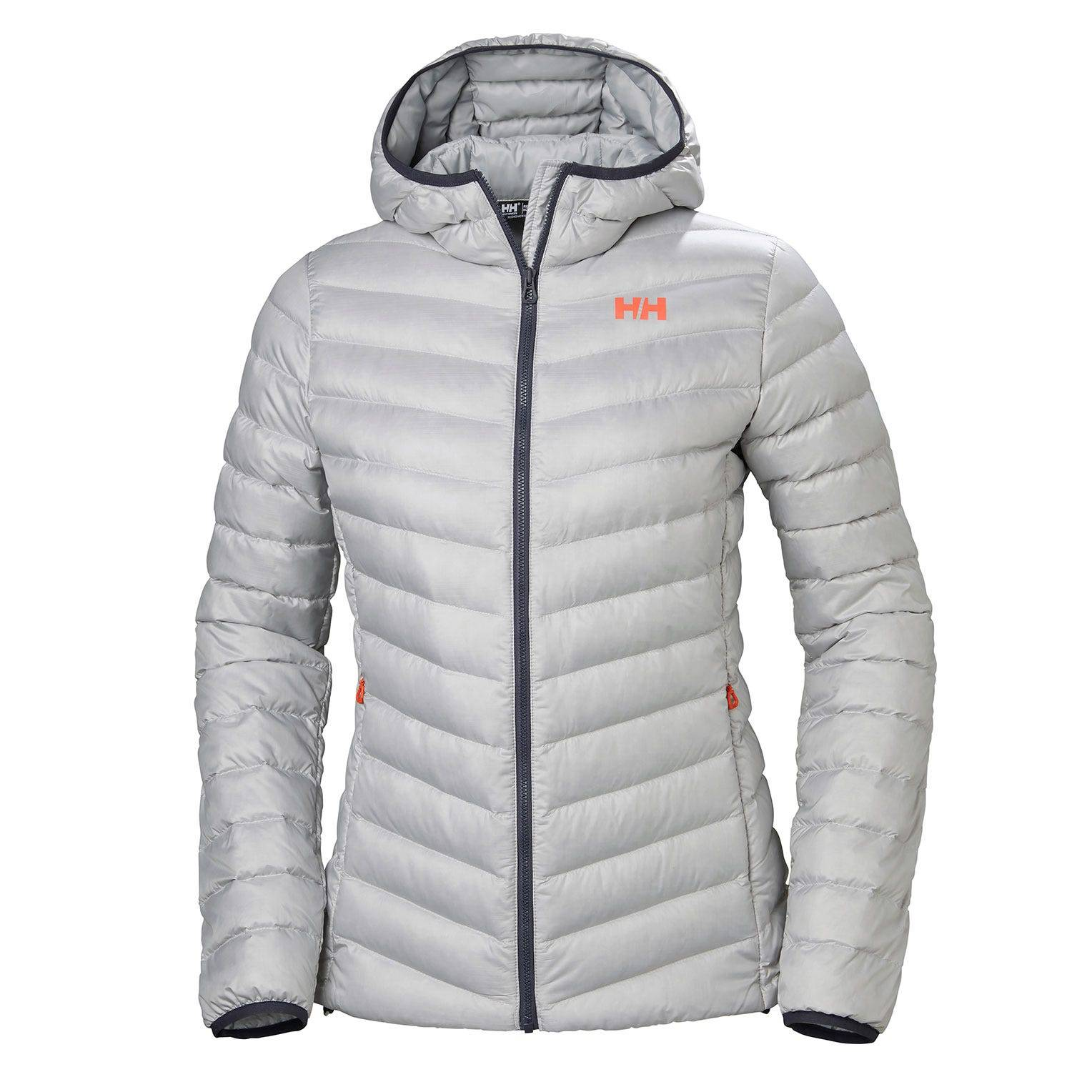 Helly Hansen W Verglas Hooded Down Insulato Womens Hiking Jacket White XL