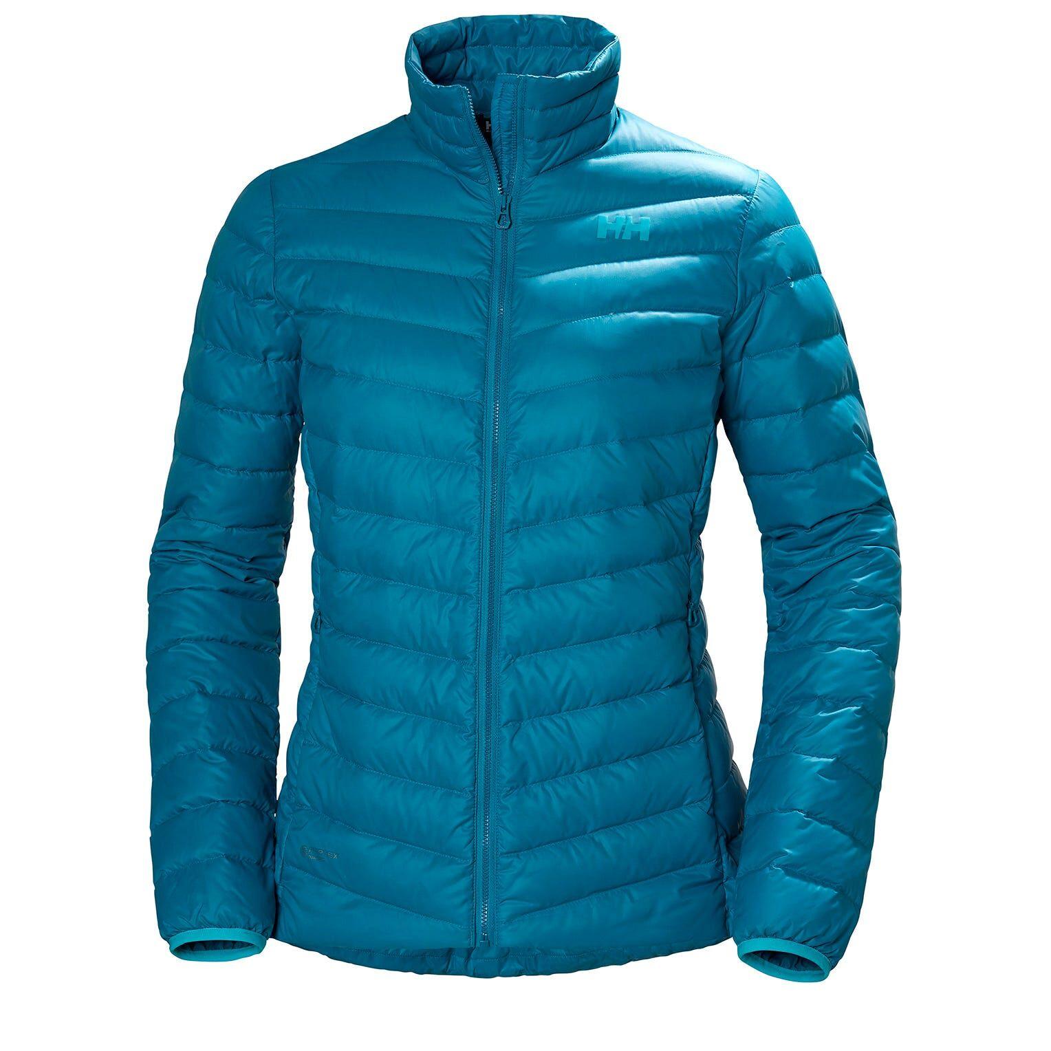 Helly Hansen W Verglas Down Insulator Womens Hiking Jacket Blue XL