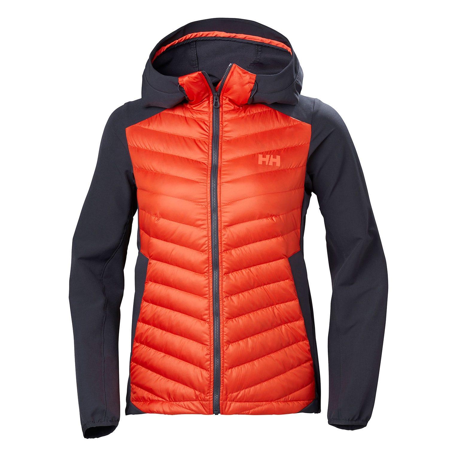 Helly Hansen W Verglas Light Jacket Womens Hiking Red XL