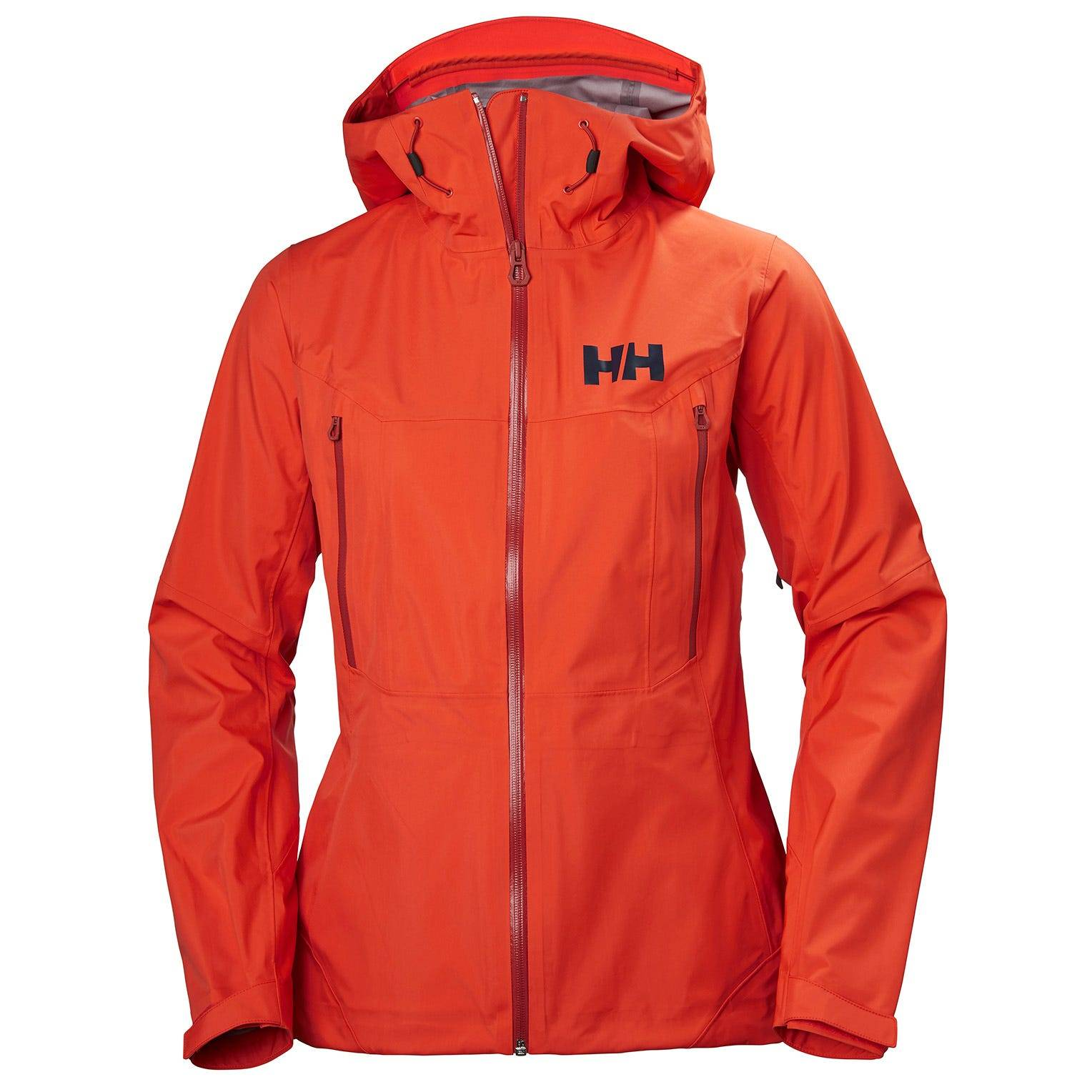 Helly Hansen W Verglas 3l Shell Jacket Womens Hiking Red L