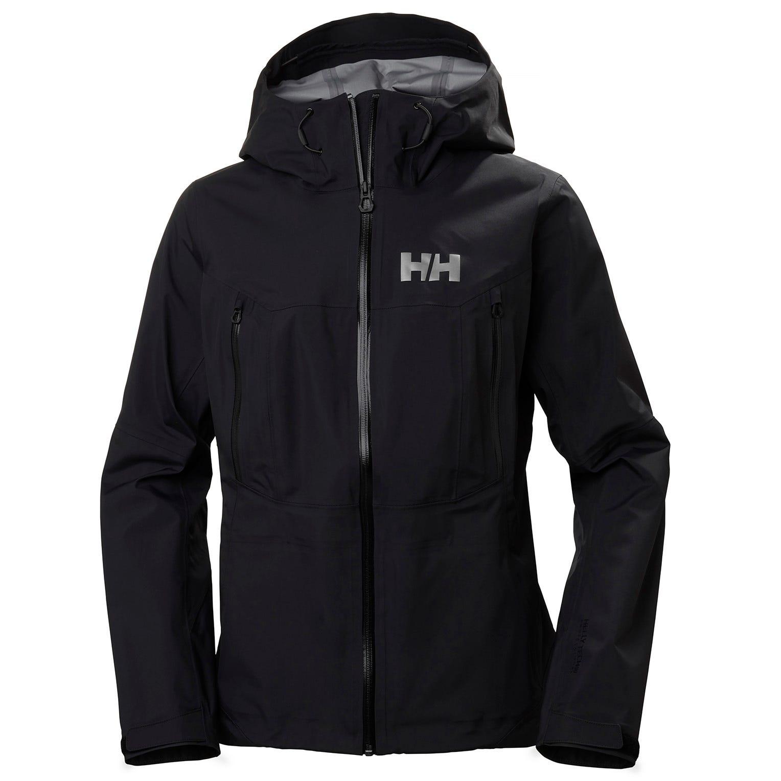 Helly Hansen W Verglas 3l Shell Jacket Womens Hiking Black M