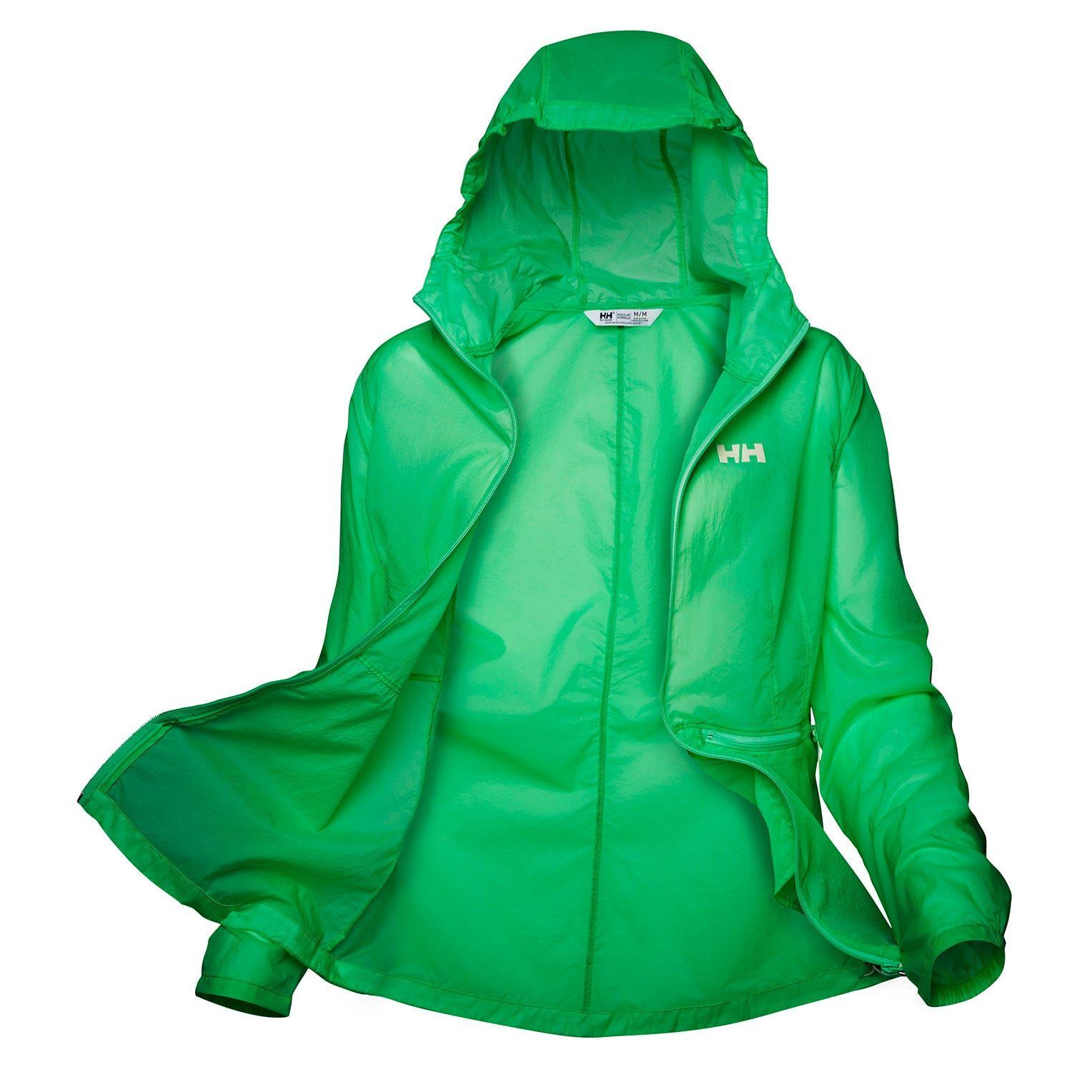 Helly Hansen W Vana Windbreaker Jacket Womens Hiking Green S