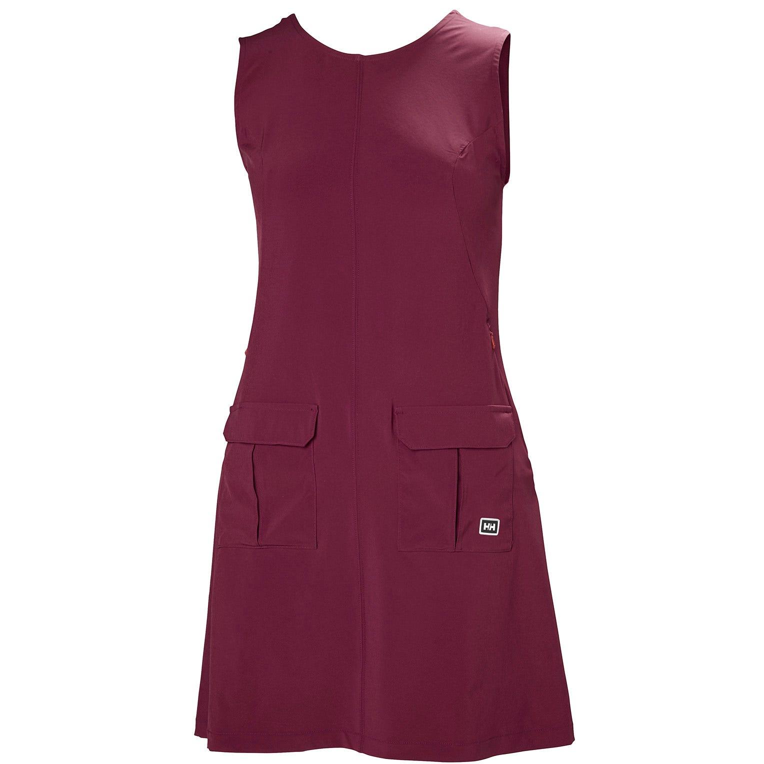 Helly Hansen W Vik Dress Womens Midlayer Purple XS