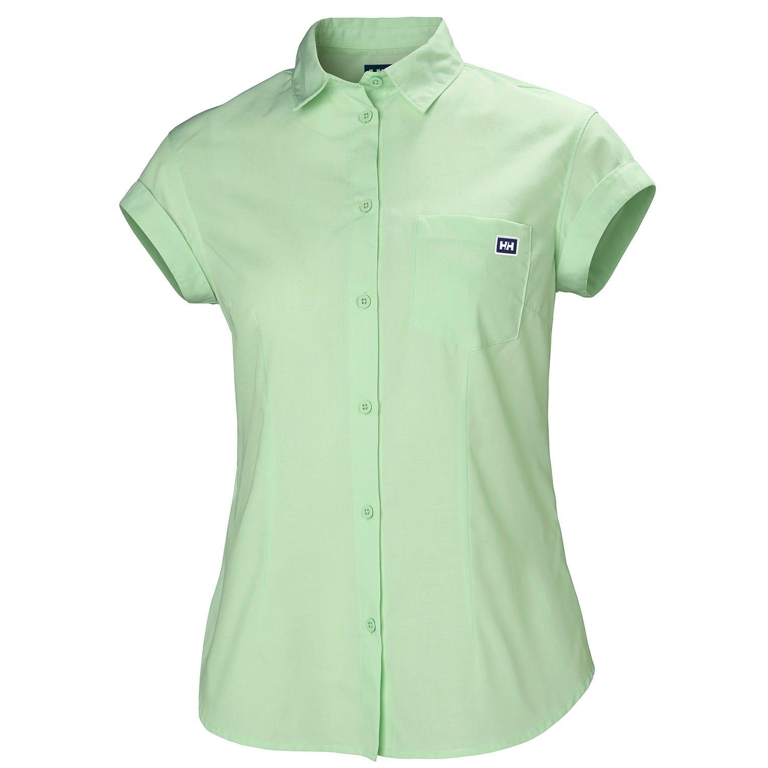 Helly Hansen W Huk Shirt Womens Green XS