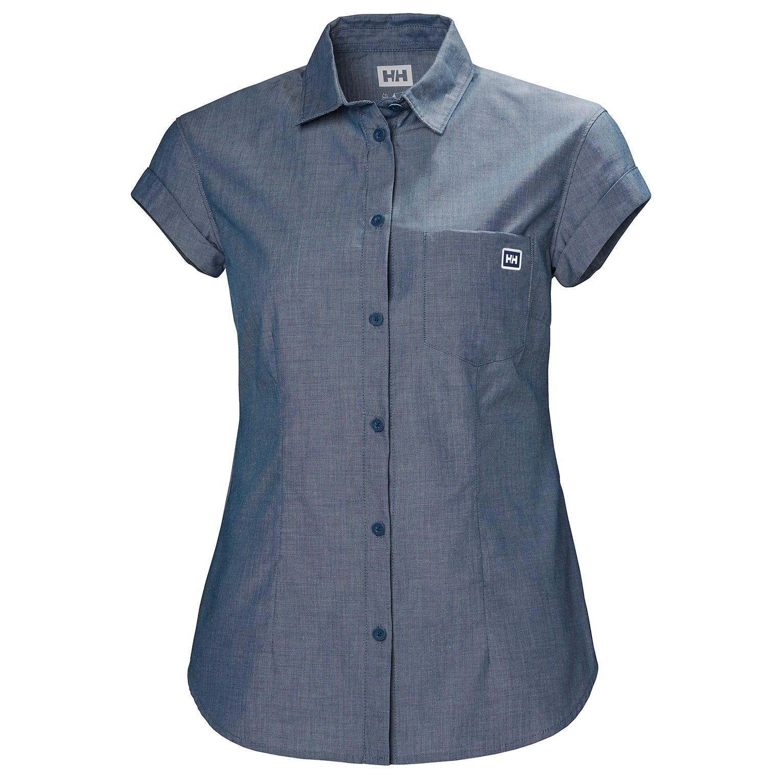 Helly Hansen W Huk Shirt Womens Blue XL
