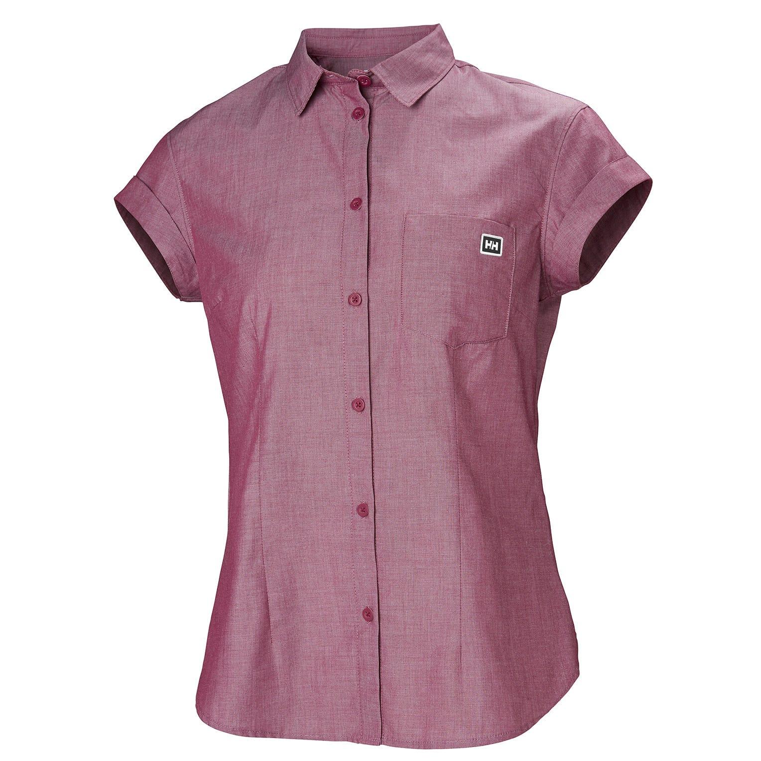 Helly Hansen W Huk Shirt Womens Purple S