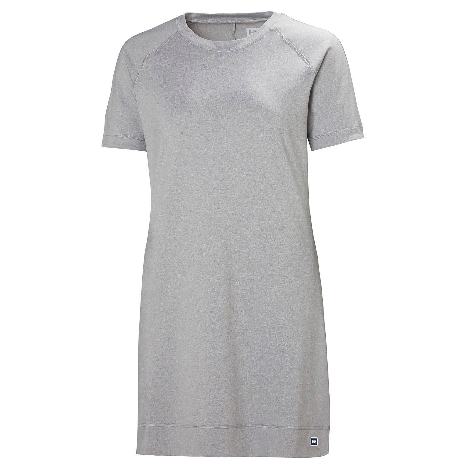 Helly Hansen W Malla Dress Womens Midlayer Grey M