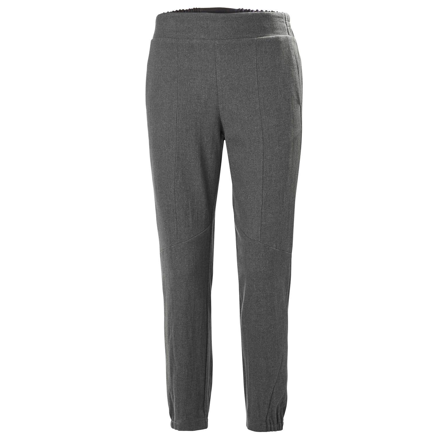 Helly Hansen W Wool Travel Pant Womens Hiking Grey L