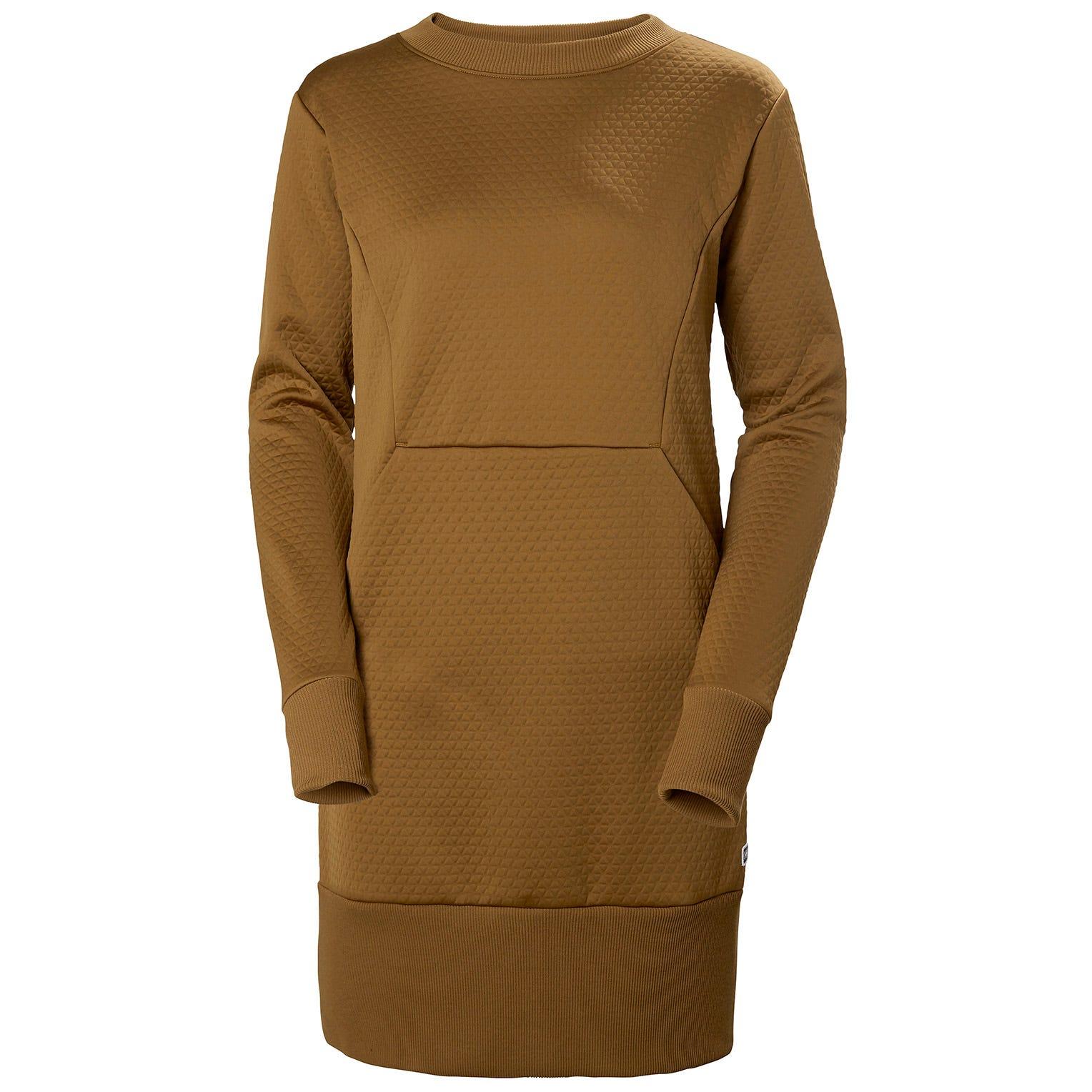 Helly Hansen W Hytte Dress Womens Yellow L