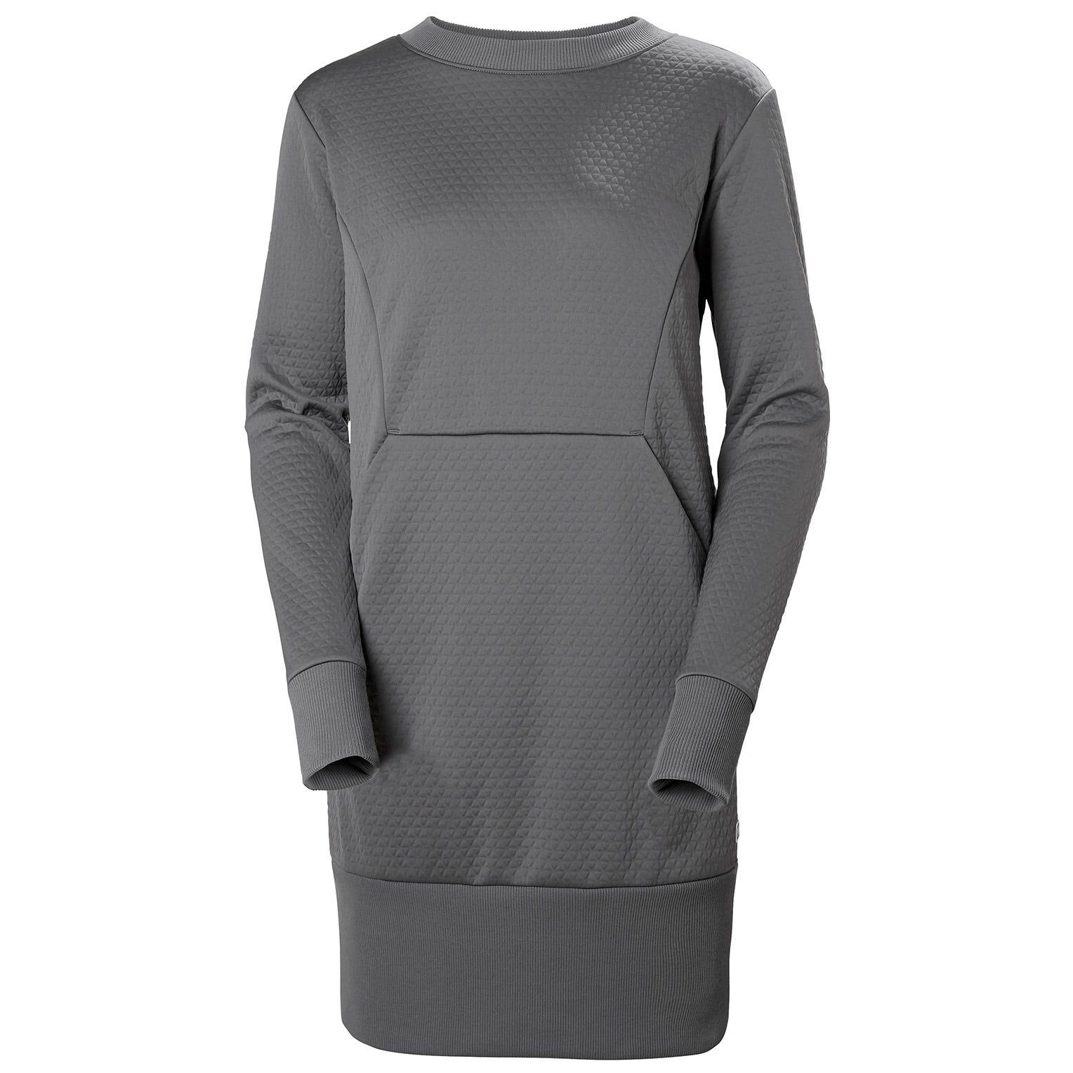 Helly Hansen W Hytte Dress Womens Grey L