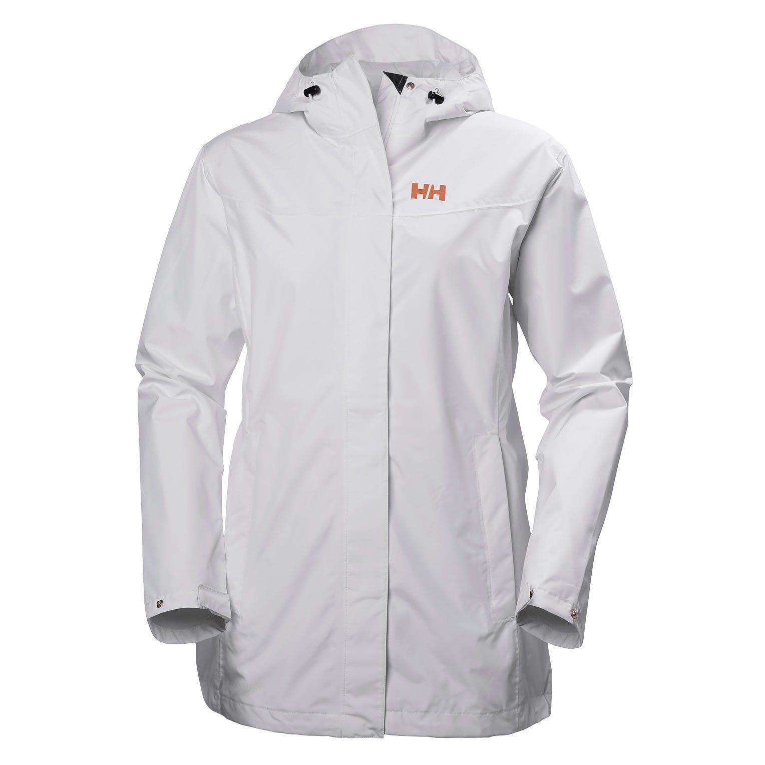 Helly Hansen W Lynwood Jacket Womens Rain White L
