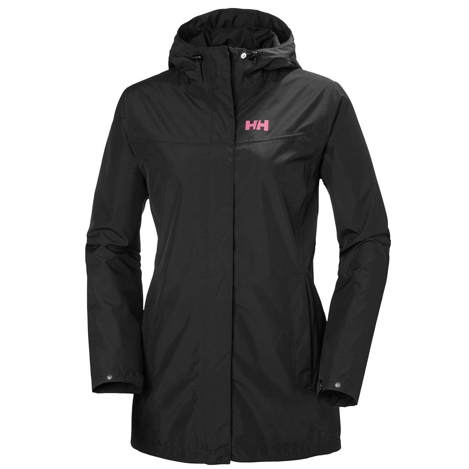 Helly Hansen W Lynwood Jacket Womens Rain Black L