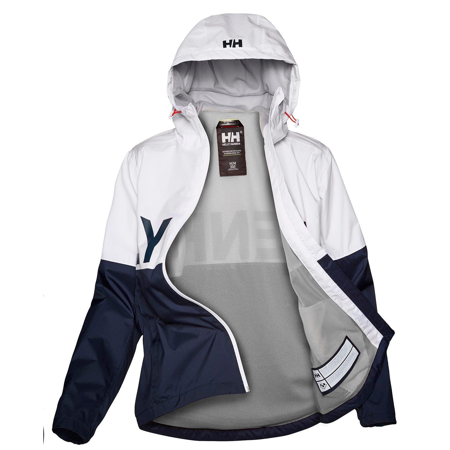 Helly Hansen W Amuze Jacket Womens Rain White L