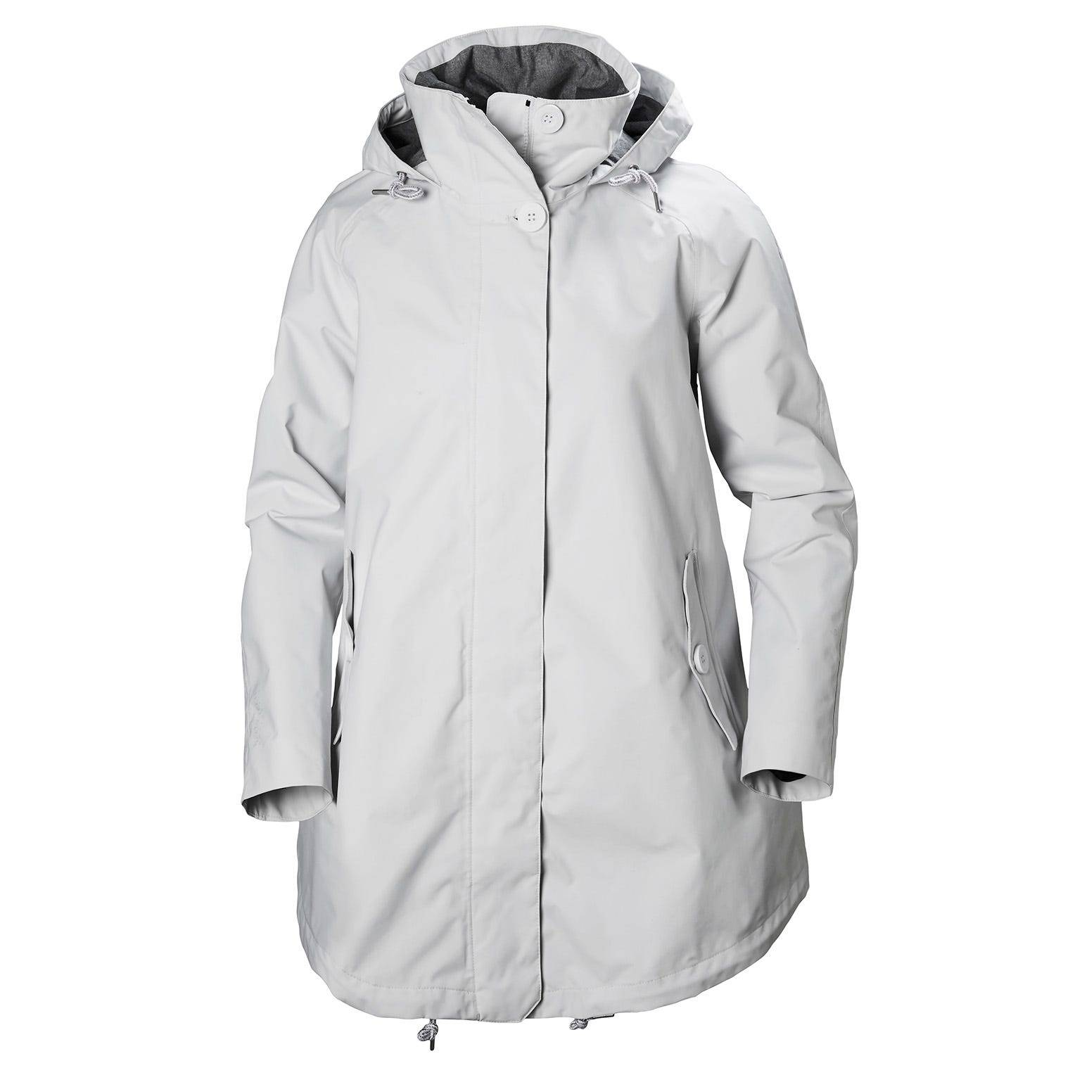 Helly Hansen W Sendai Rain Coat Womens Jacket White S