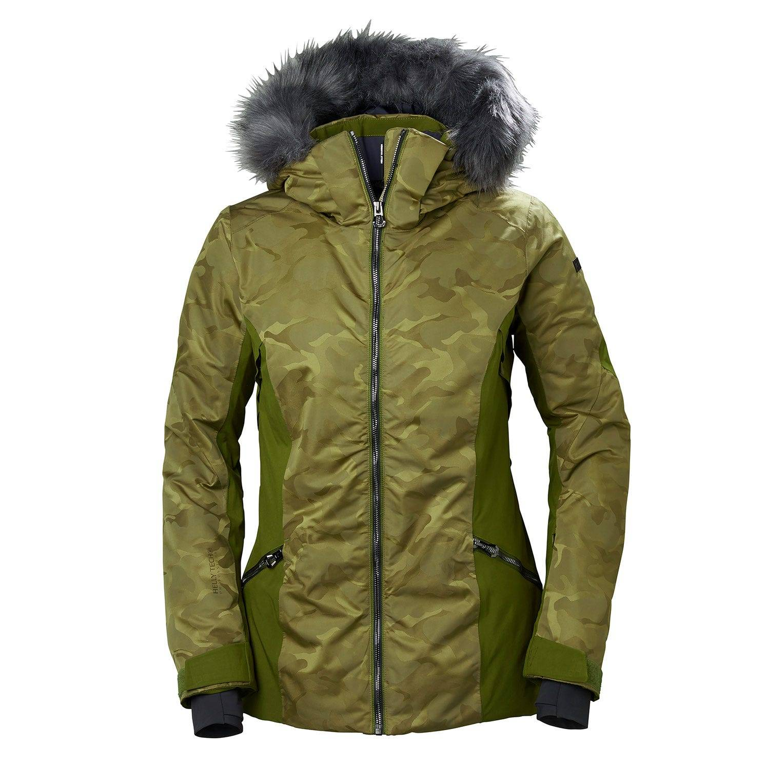 Helly Hansen W Skistar Jacket Womens Ski Green XL