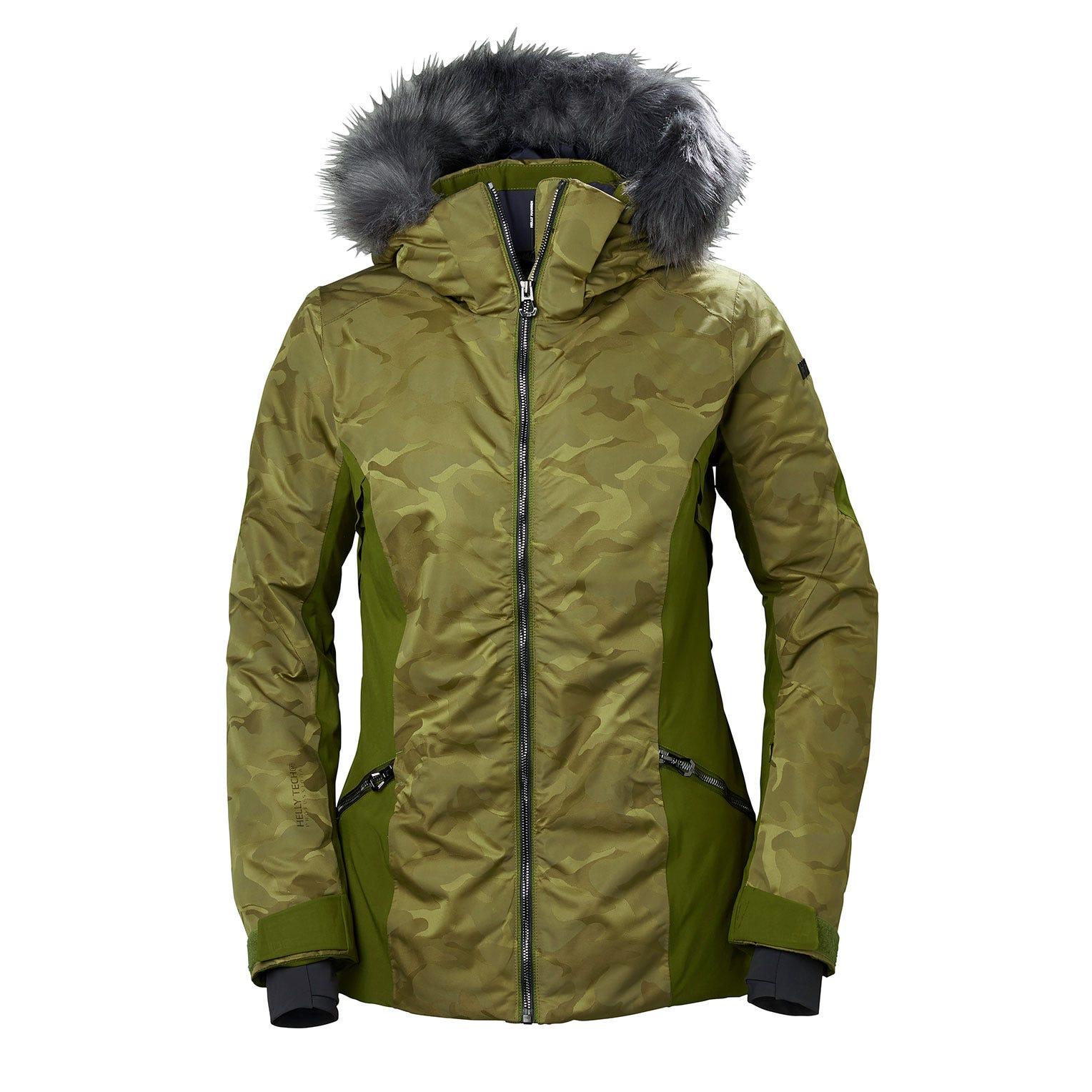 Helly Hansen W Skistar Jacket Womens Ski Green L