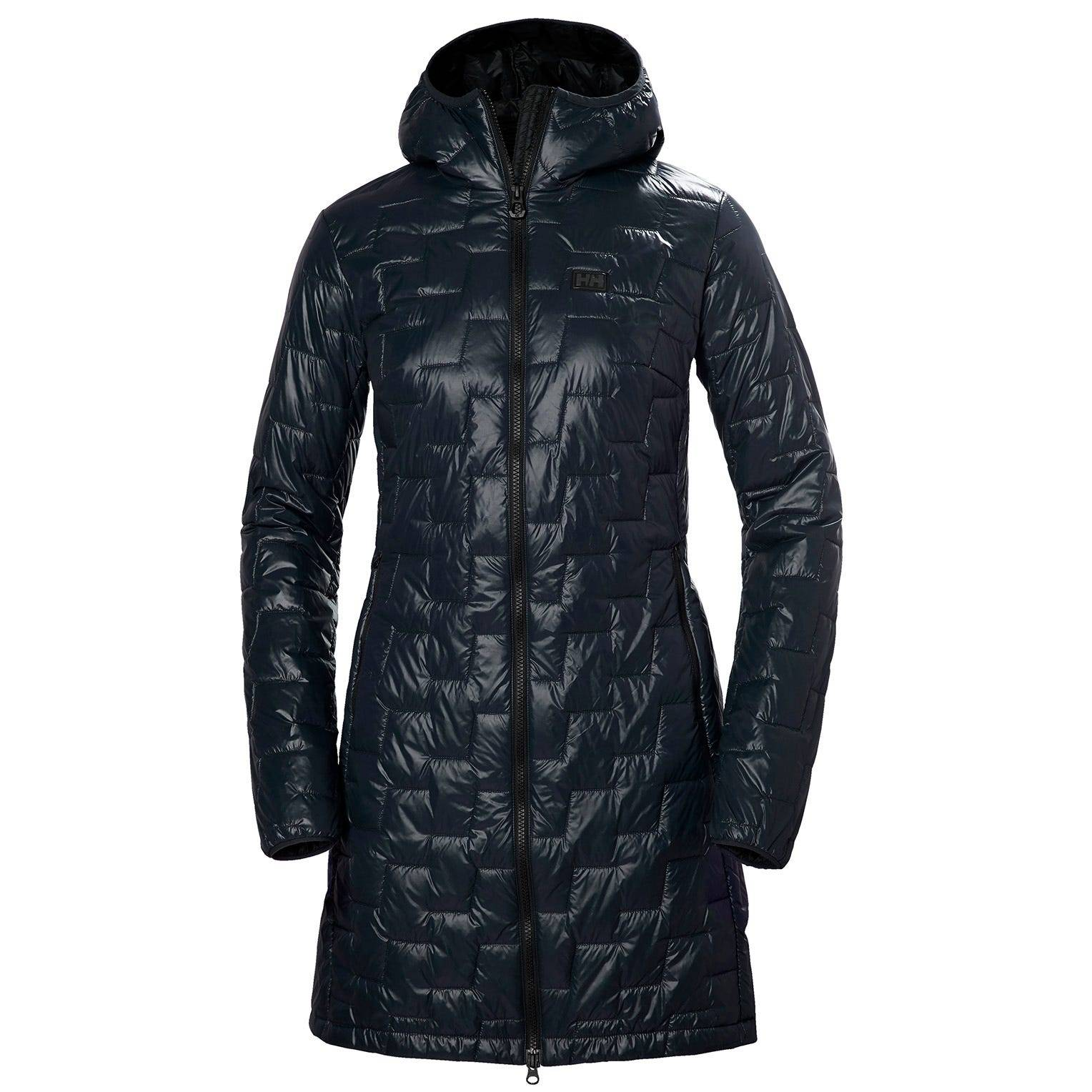 Helly Hansen W Lifaloft Insulator Coat Womens Parka Navy S