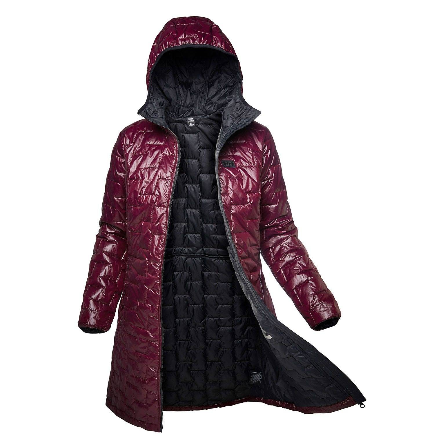 Helly Hansen W Lifaloft Insulator Coat Womens Parka Purple M