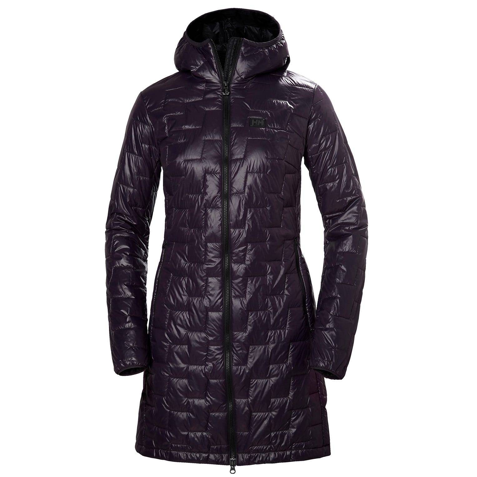 Helly Hansen W Lifaloft Insulator Coat Womens Parka Yellow XL