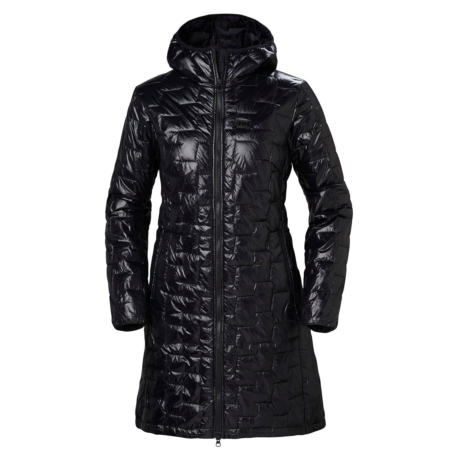 Helly Hansen W Lifaloft Insulator Coat Womens Parka Black L
