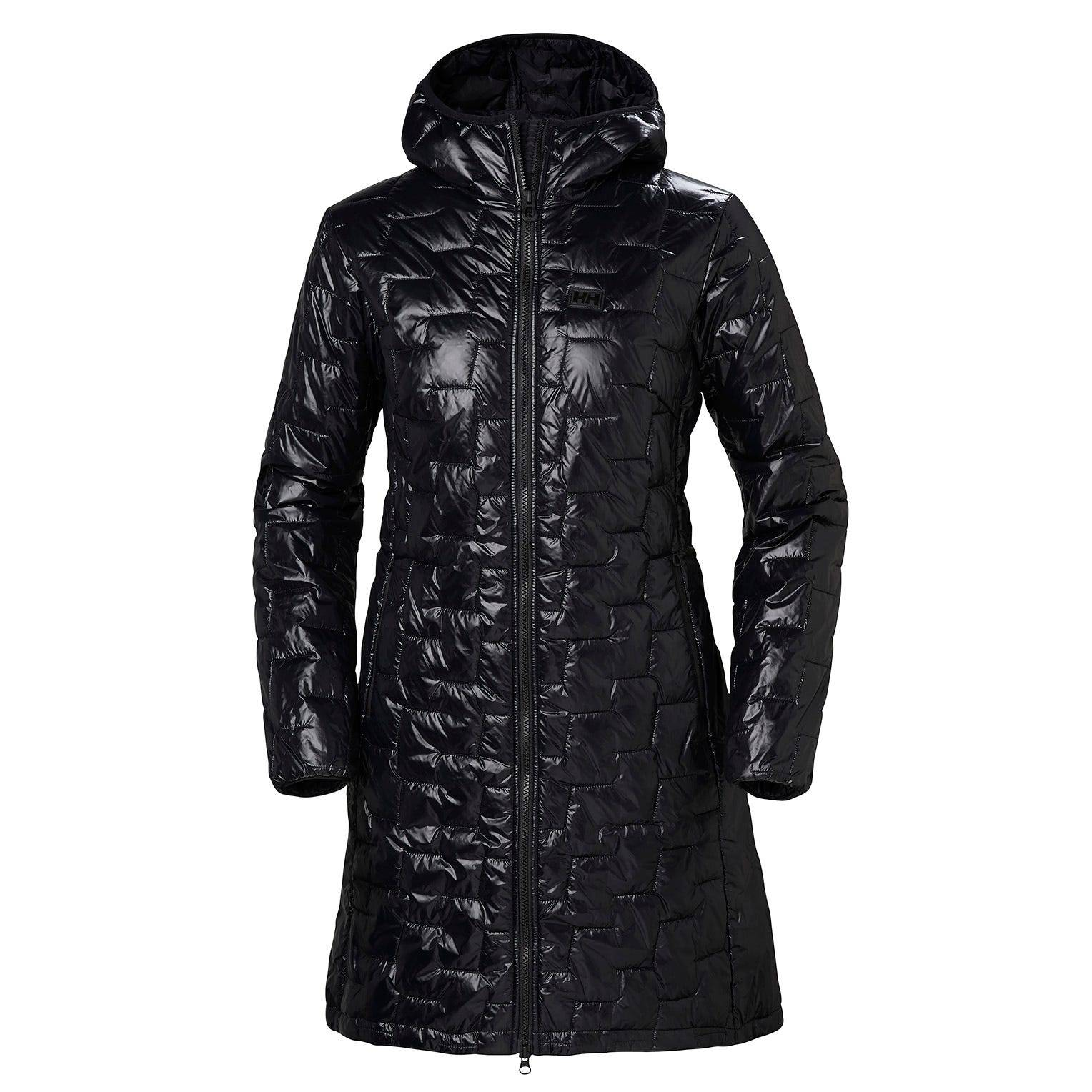 Helly Hansen W Lifaloft Insulator Coat Womens Parka Black M
