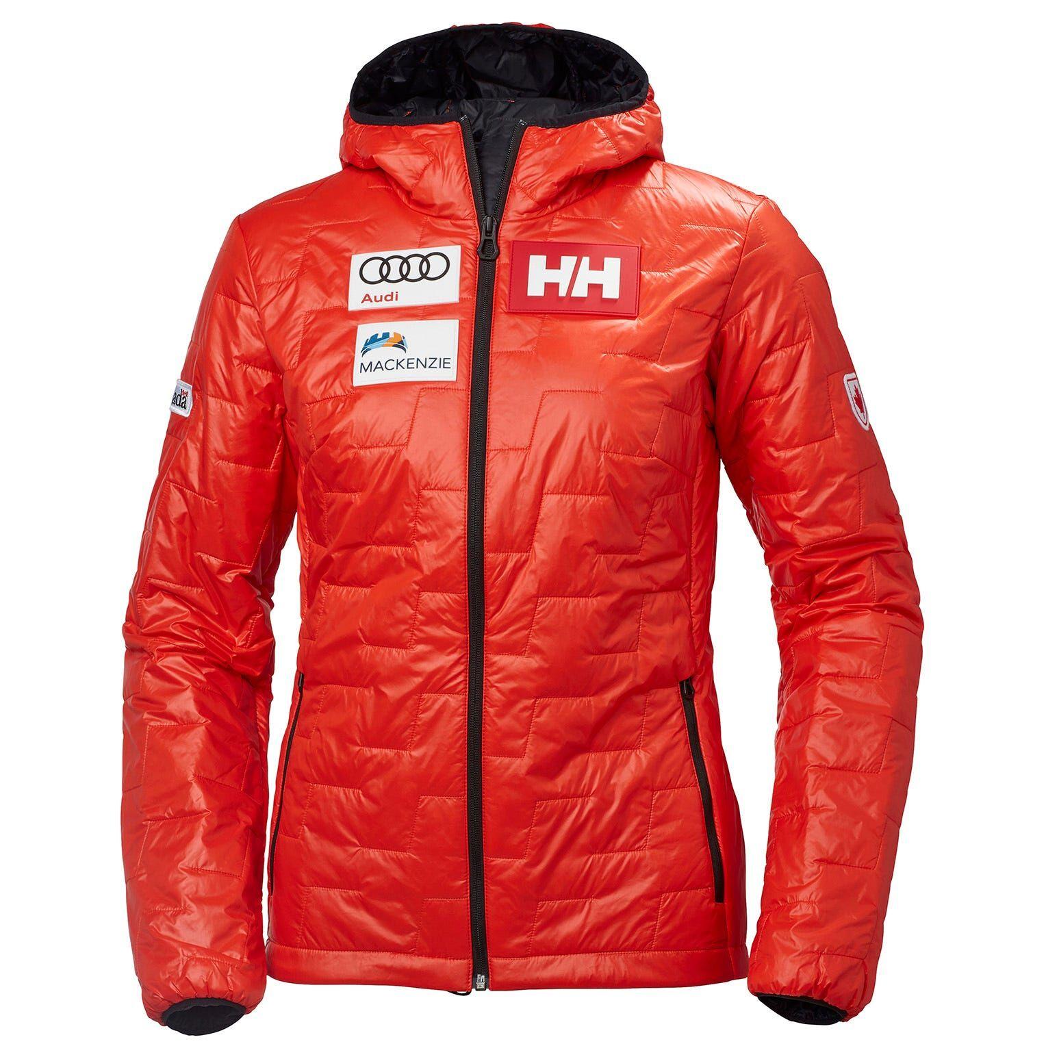 Helly Hansen W Lifaloft Hooded Insulator Ja Womens Sailing Jacket Red S