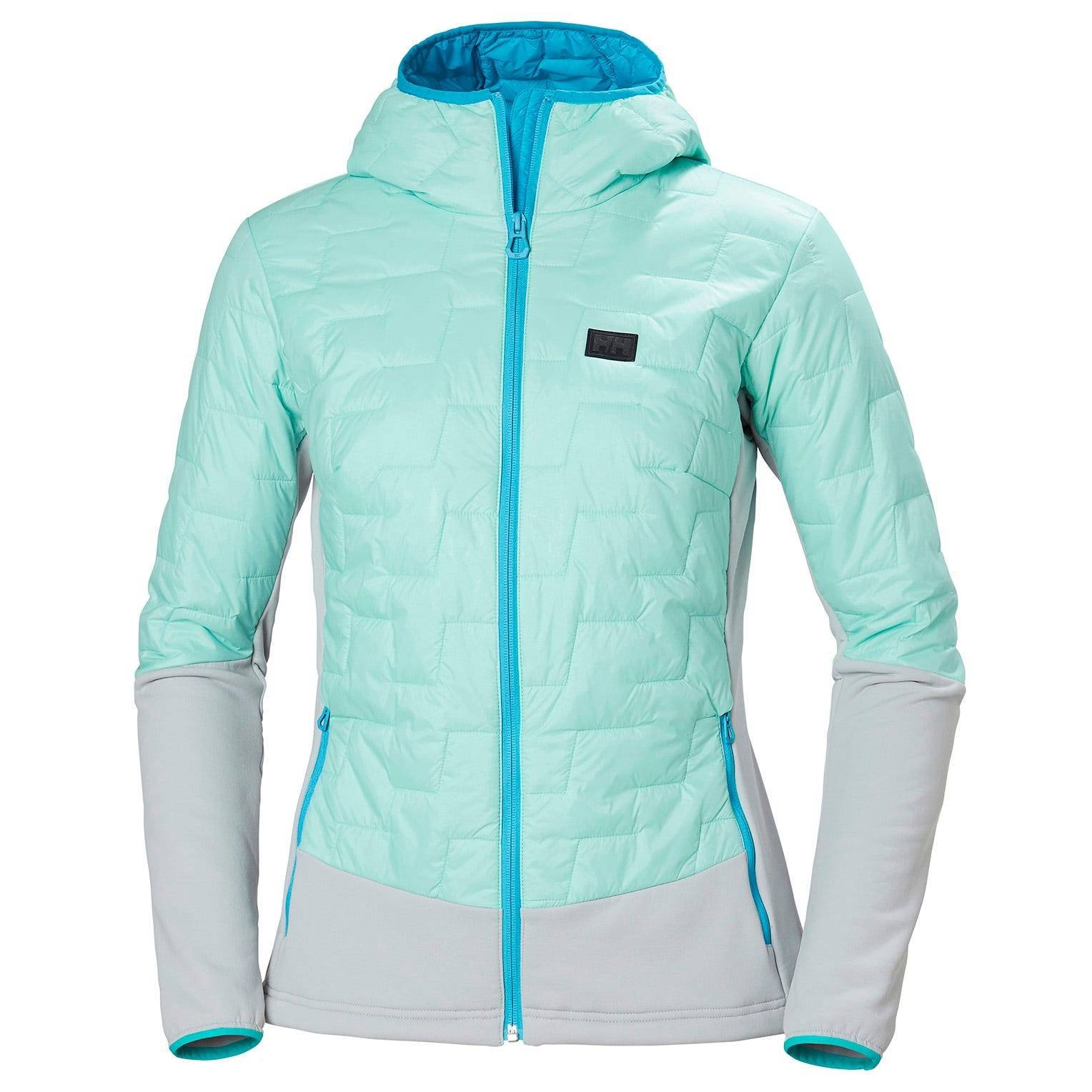 Helly Hansen W Lifaloft Hybrid Insulator Jacket Womens Midlayer Blue L