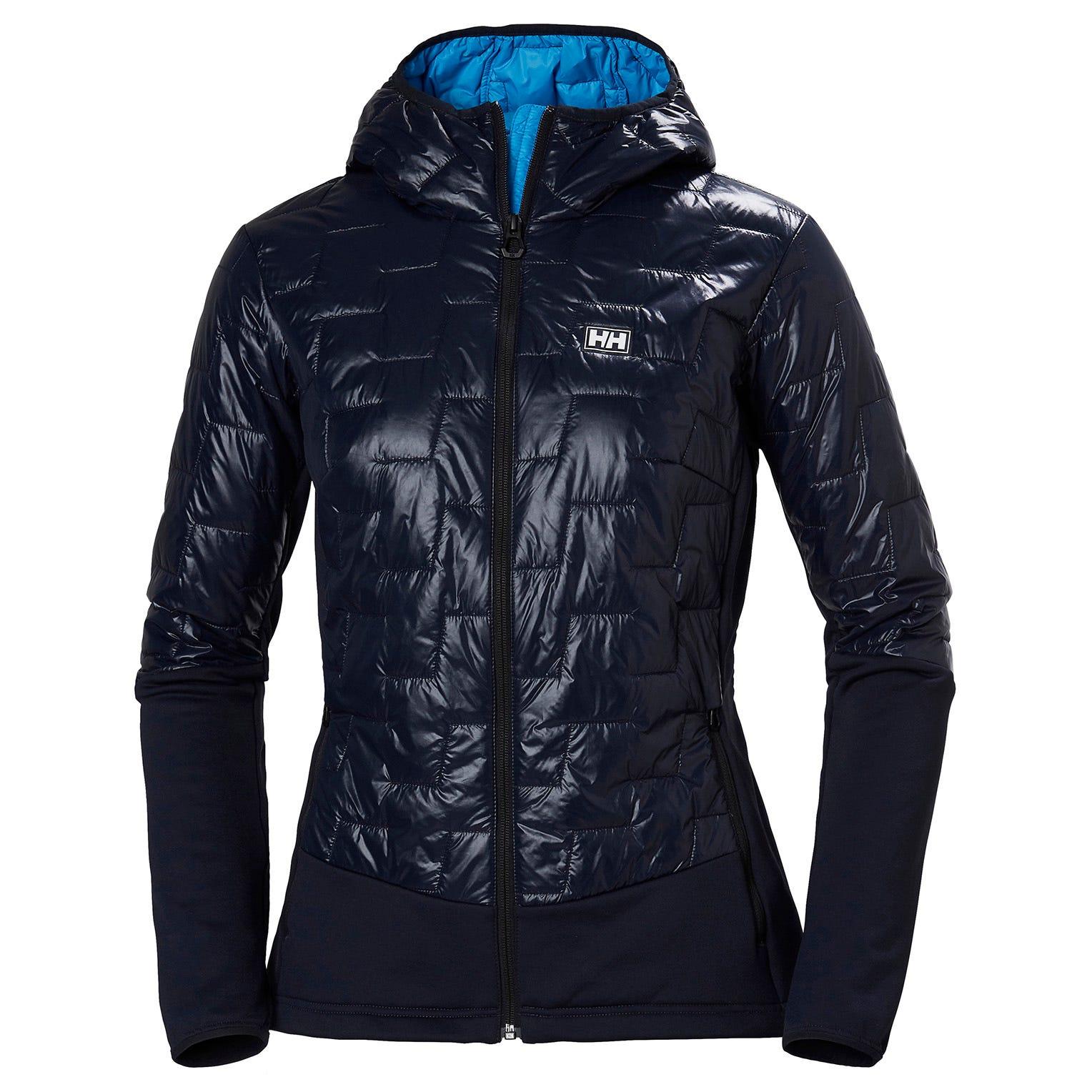 Helly Hansen W Lifaloft Hybrid Insulator Jacket Womens Midlayer Navy M