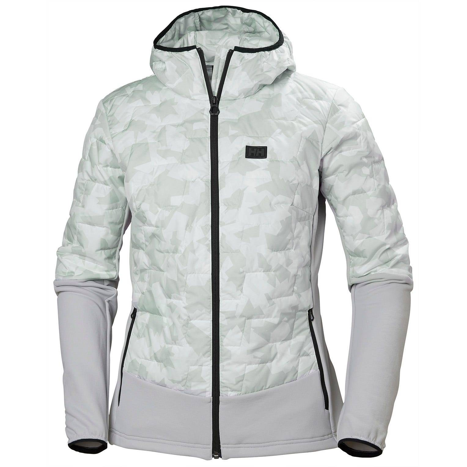 Helly Hansen W Lifaloft Hybrid Insulator Jacket Womens Midlayer Yellow M