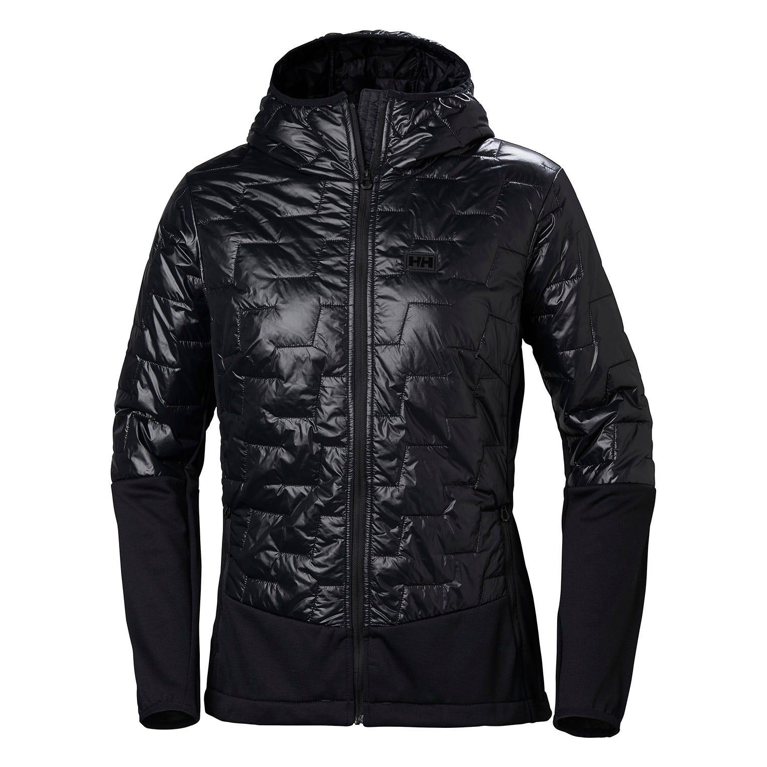 Helly Hansen W Lifaloft Hybrid Insulator Jacket Womens Hiking Black XL